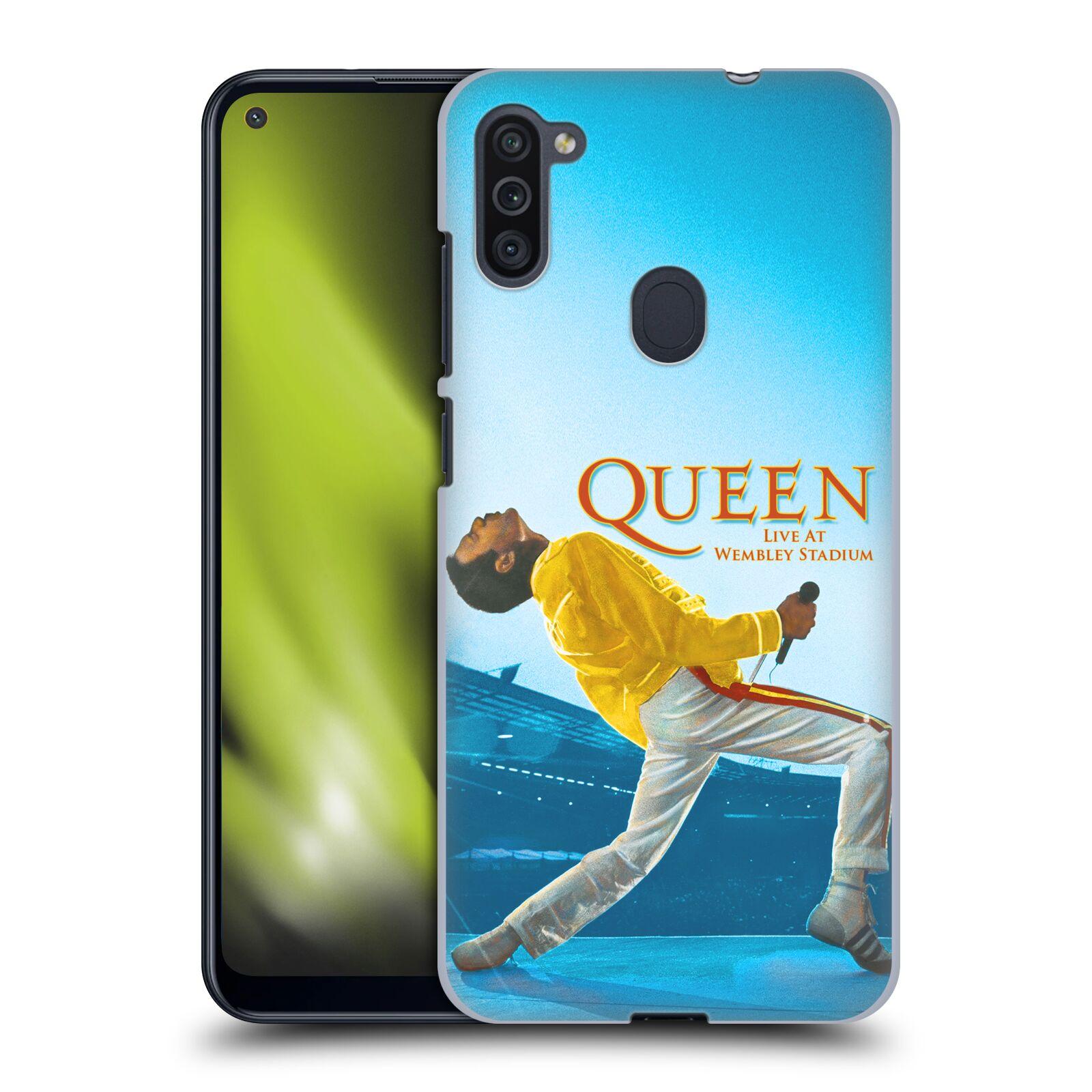 Plastové pouzdro na mobil Samsung Galaxy M11 - Head Case - Queen - Freddie Mercury