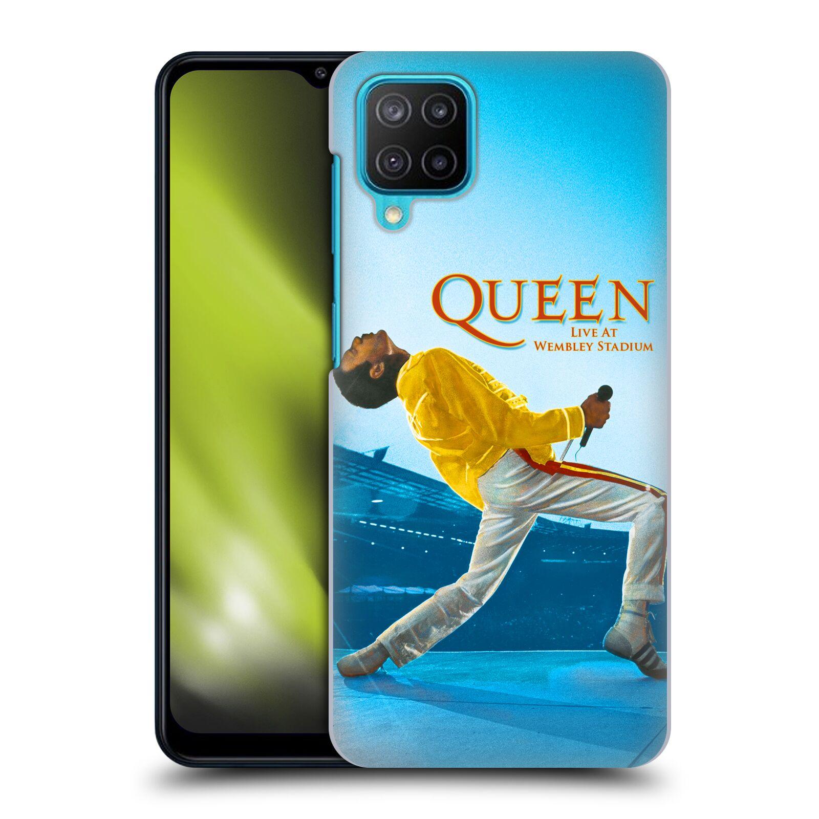 Plastové pouzdro na mobil Samsung Galaxy M12 - Head Case - Queen - Freddie Mercury