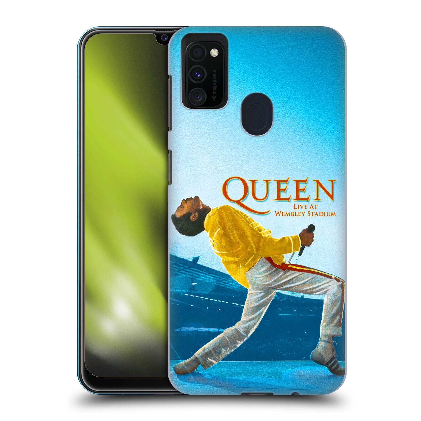 Plastové pouzdro na mobil Samsung Galaxy M21 - Head Case - Queen - Freddie Mercury