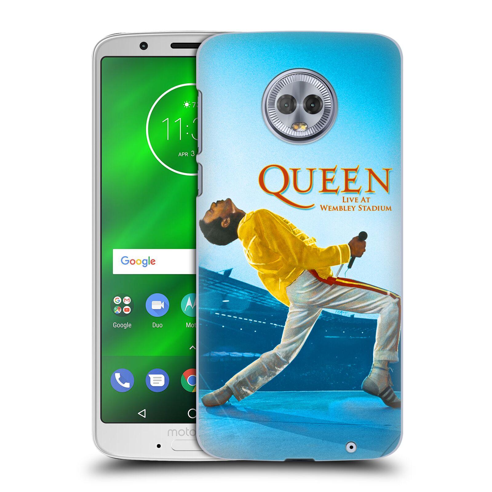 Plastové pouzdro na mobil Motorola Moto G6 Plus - Head Case - Queen - Freddie Mercury