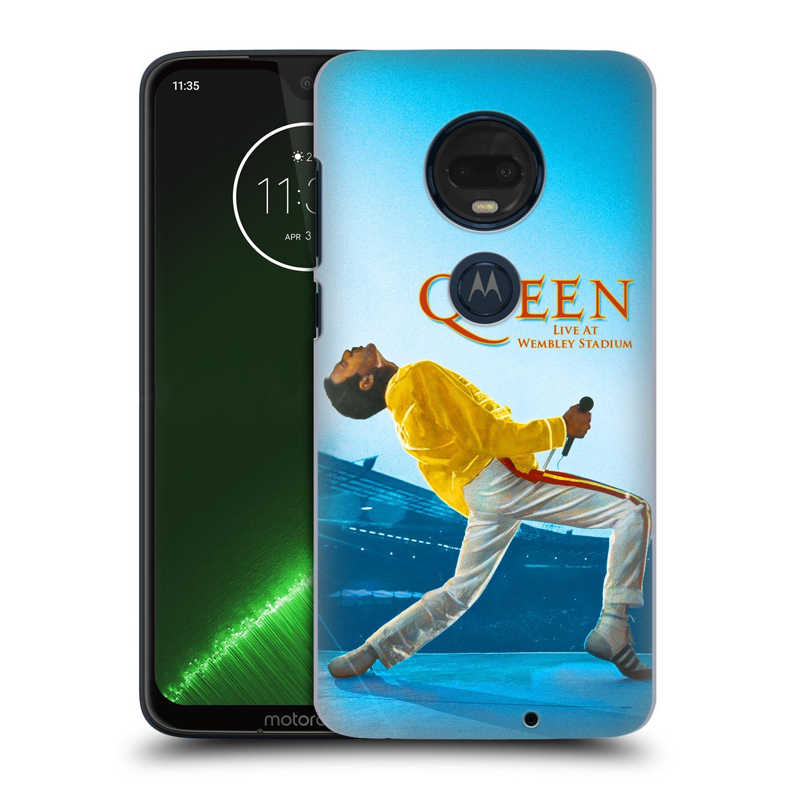 Plastové pouzdro na mobil Motorola Moto G7 Plus - Head Case - Queen - Freddie Mercury