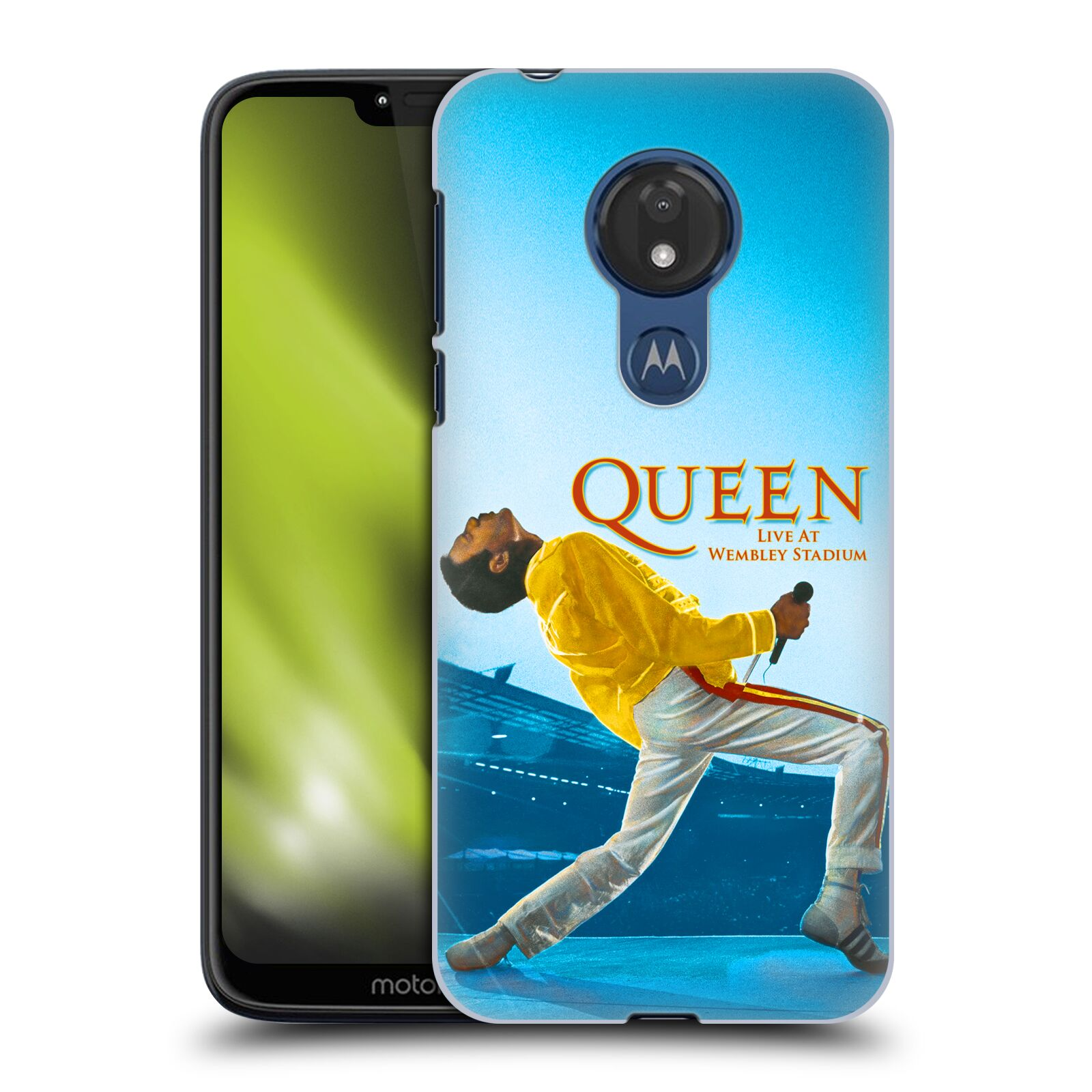 Plastové pouzdro na mobil Motorola Moto G7 Power - Head Case - Queen - Freddie Mercury