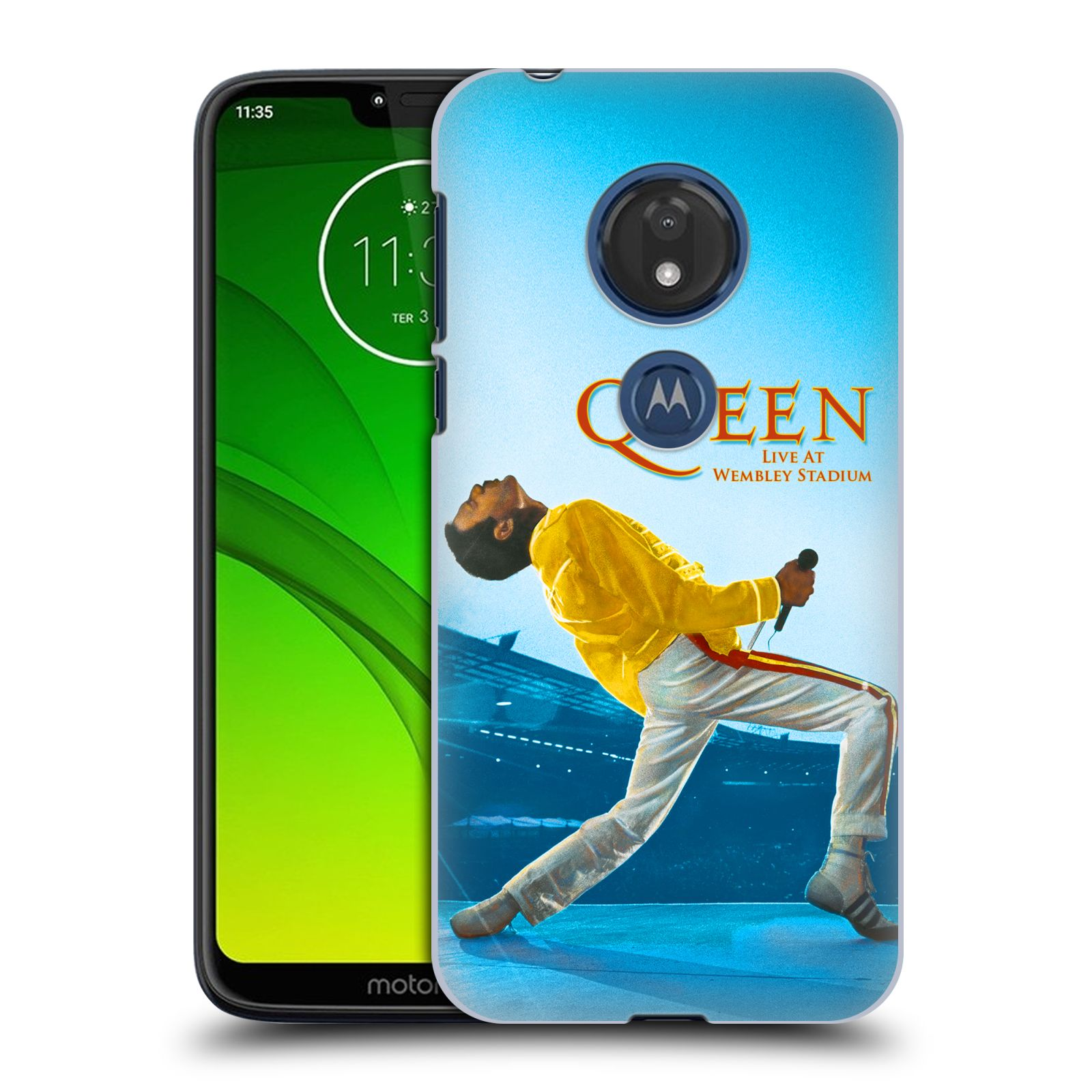 Plastové pouzdro na mobil Motorola Moto G7 Play - Head Case - Queen - Freddie Mercury