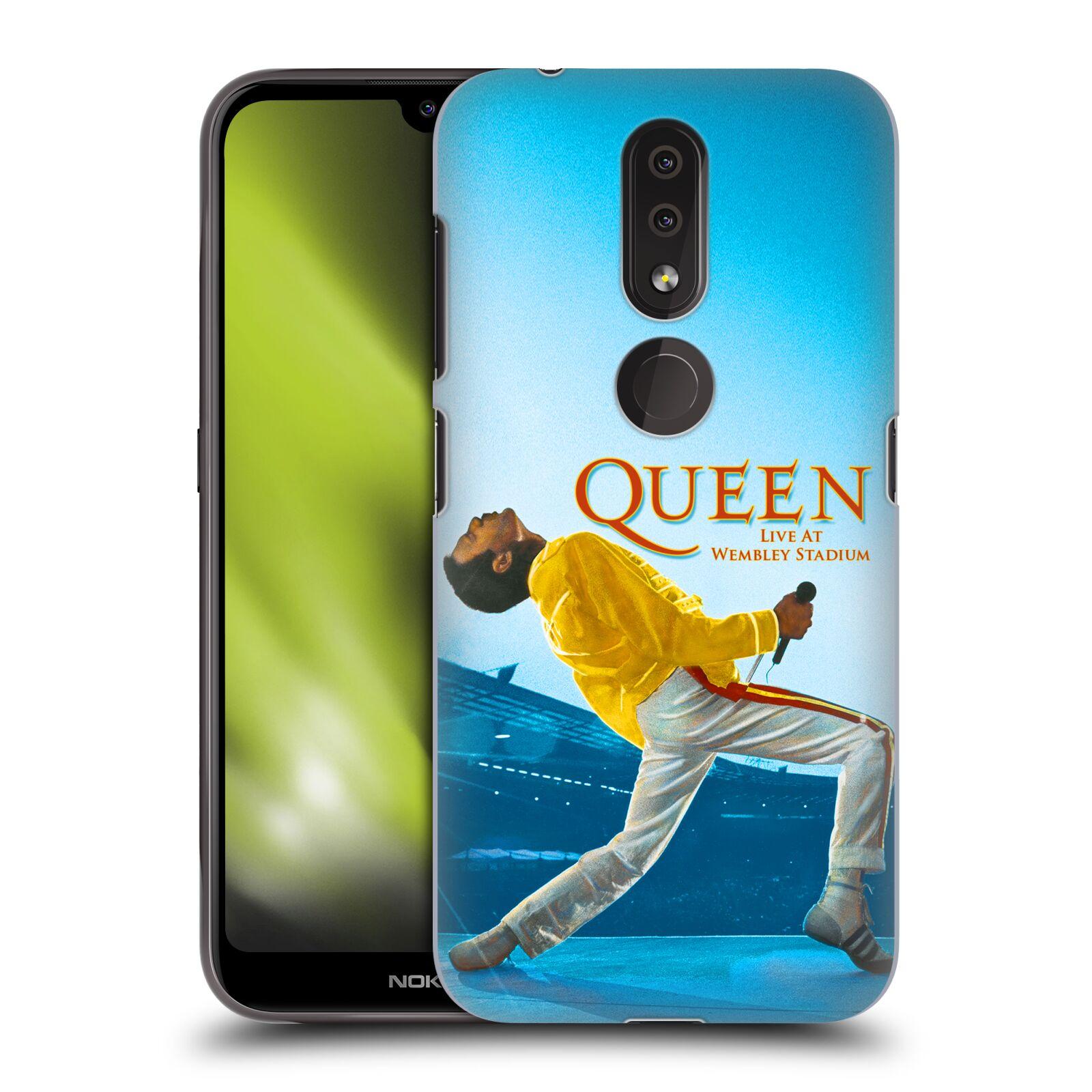 Plastové pouzdro na mobil Nokia 4.2 - Head Case - Queen - Freddie Mercury