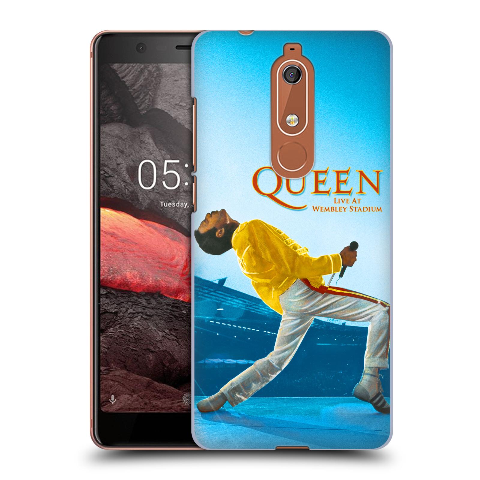 Plastové pouzdro na mobil Nokia 5.1 - Head Case - Queen - Freddie Mercury