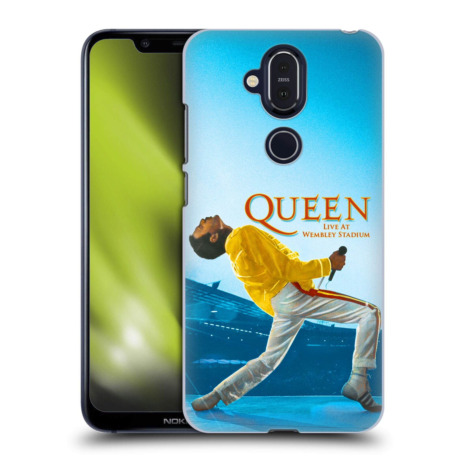 Plastové pouzdro na mobil Nokia 8.1 - Head Case - Queen - Freddie Mercury