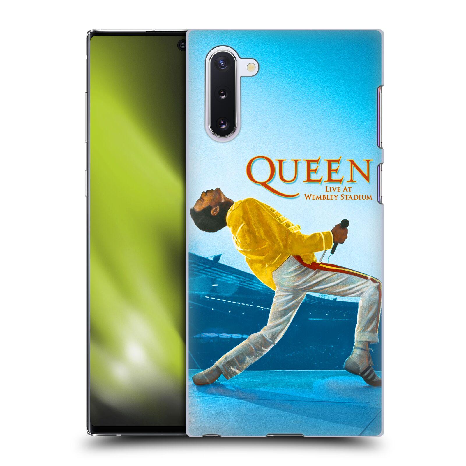 Plastové pouzdro na mobil Samsung Galaxy Note 10 - Head Case - Queen - Freddie Mercury