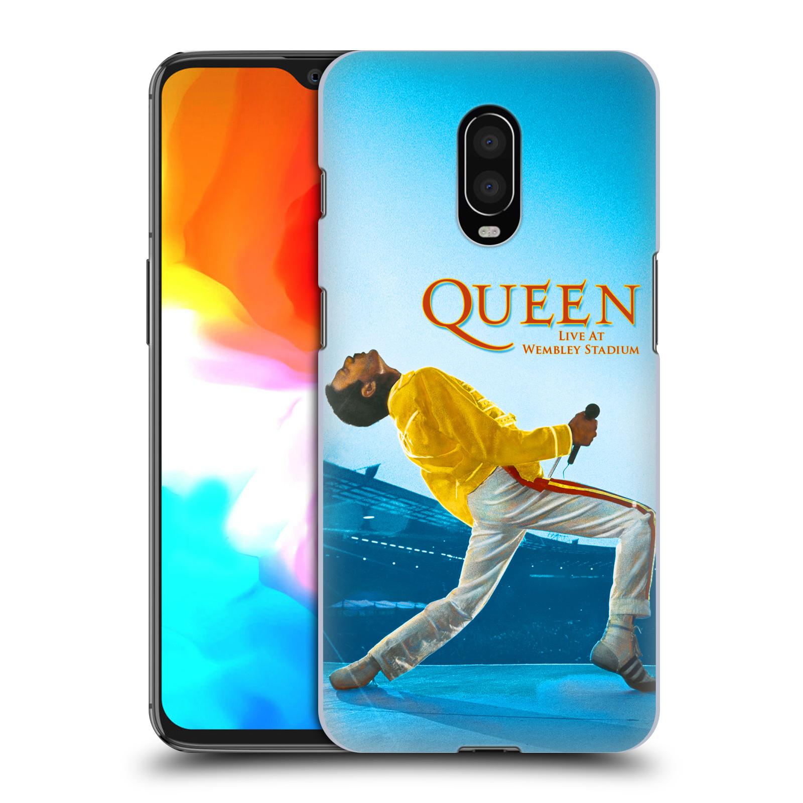 Plastové pouzdro na mobil OnePlus 6T - Head Case - Queen - Freddie Mercury