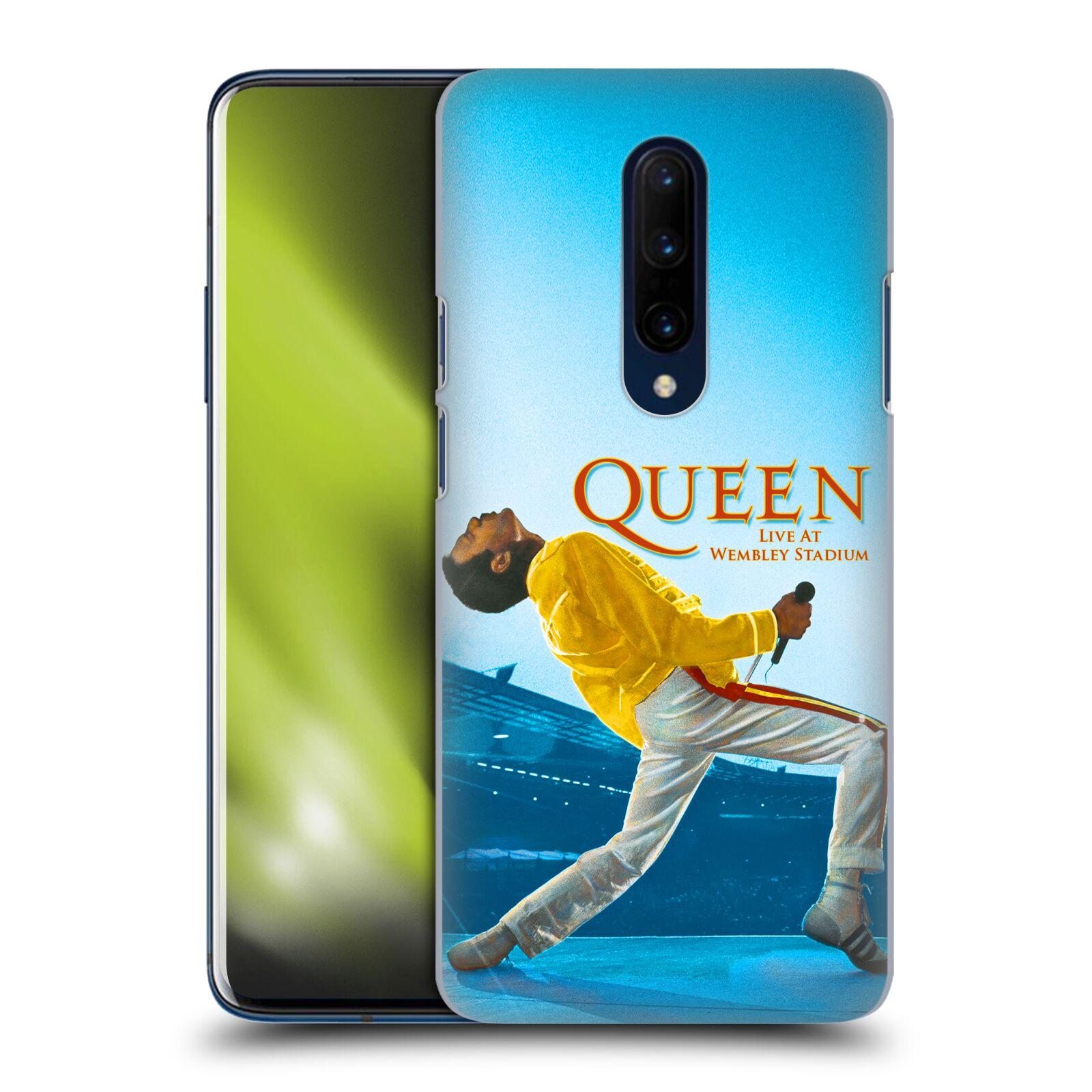 Plastové pouzdro na mobil OnePlus 7 Pro - Head Case - Queen - Freddie Mercury