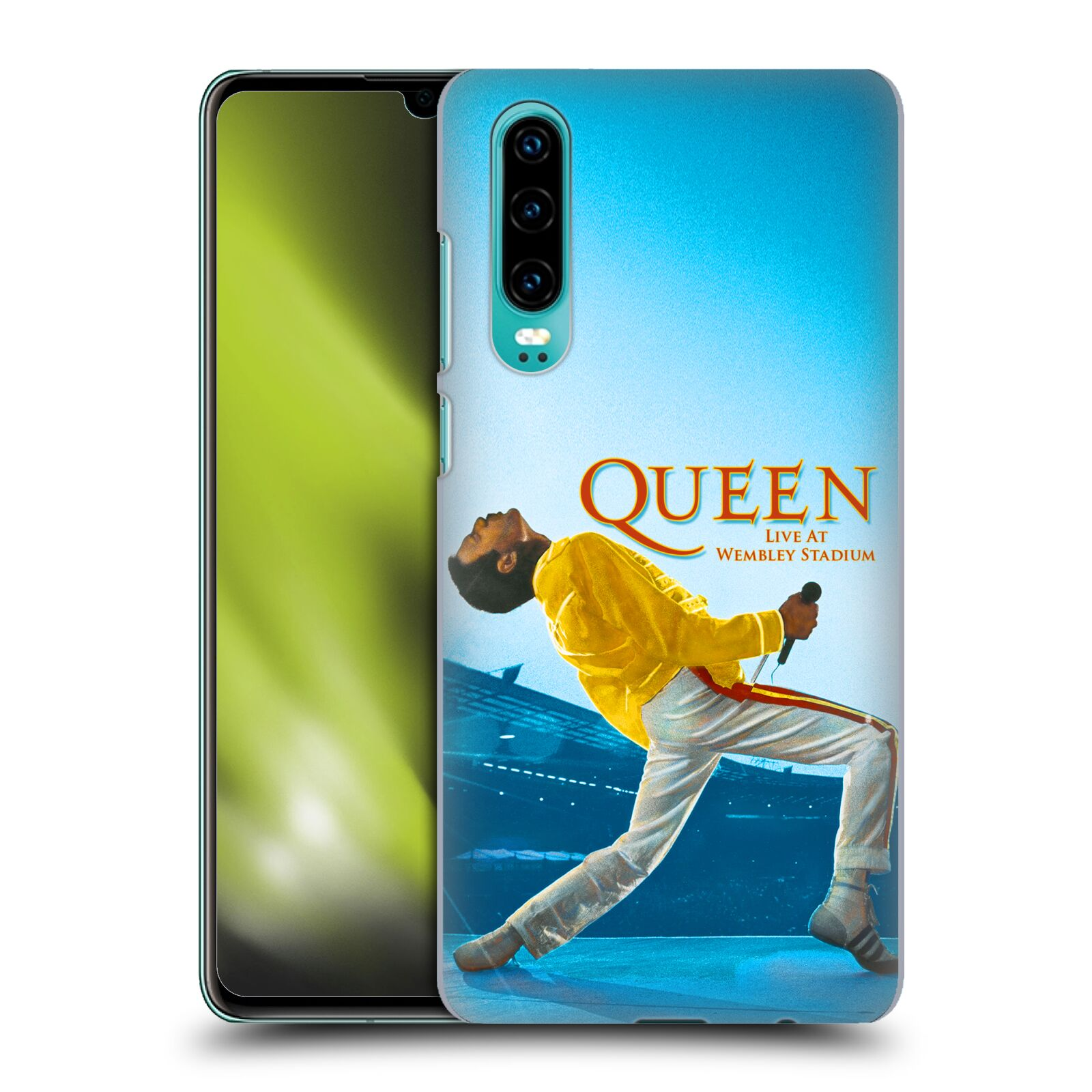 Plastové pouzdro na mobil Huawei P30 - Head Case - Queen - Freddie Mercury