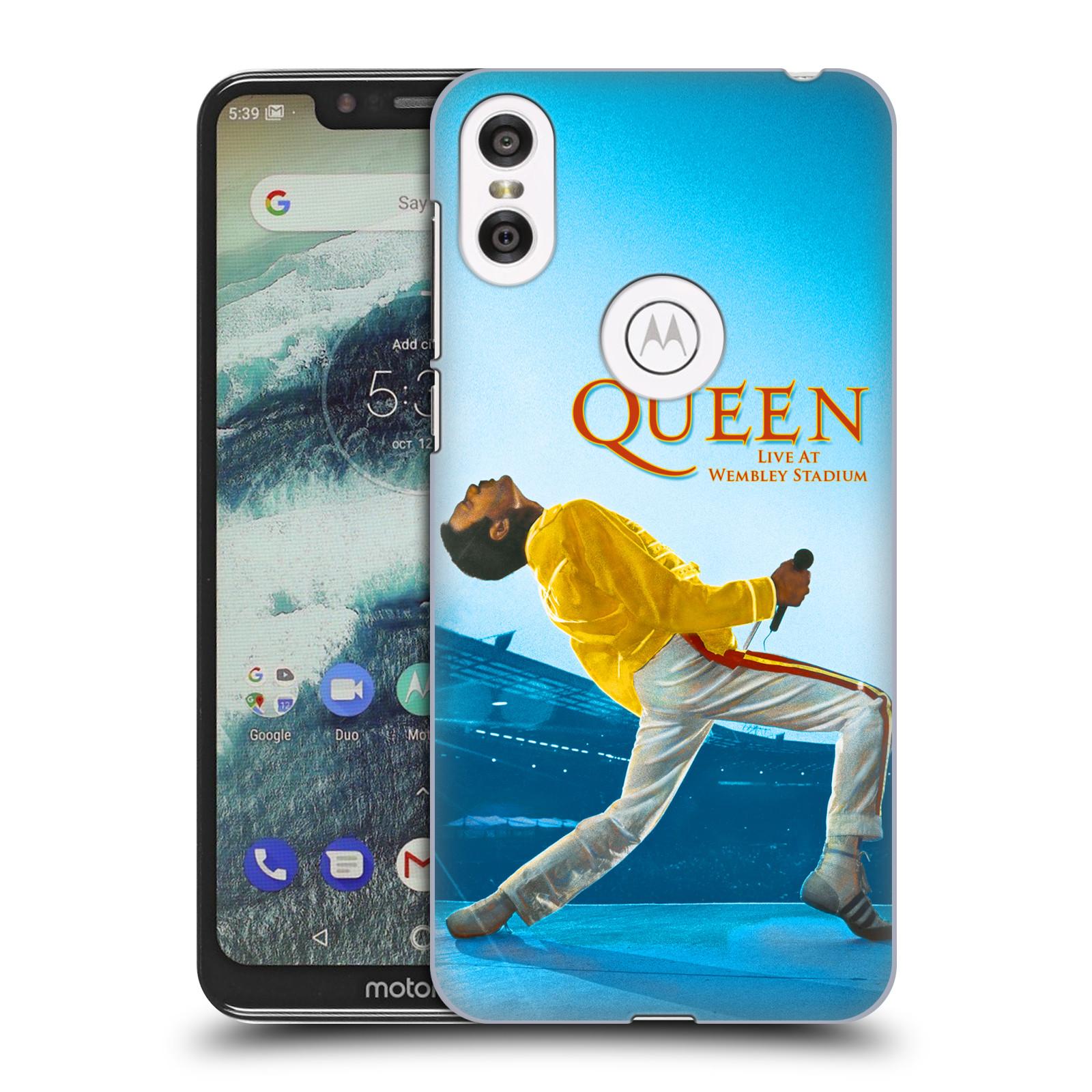 Plastové pouzdro na mobil Motorola One - Head Case - Queen - Freddie Mercury