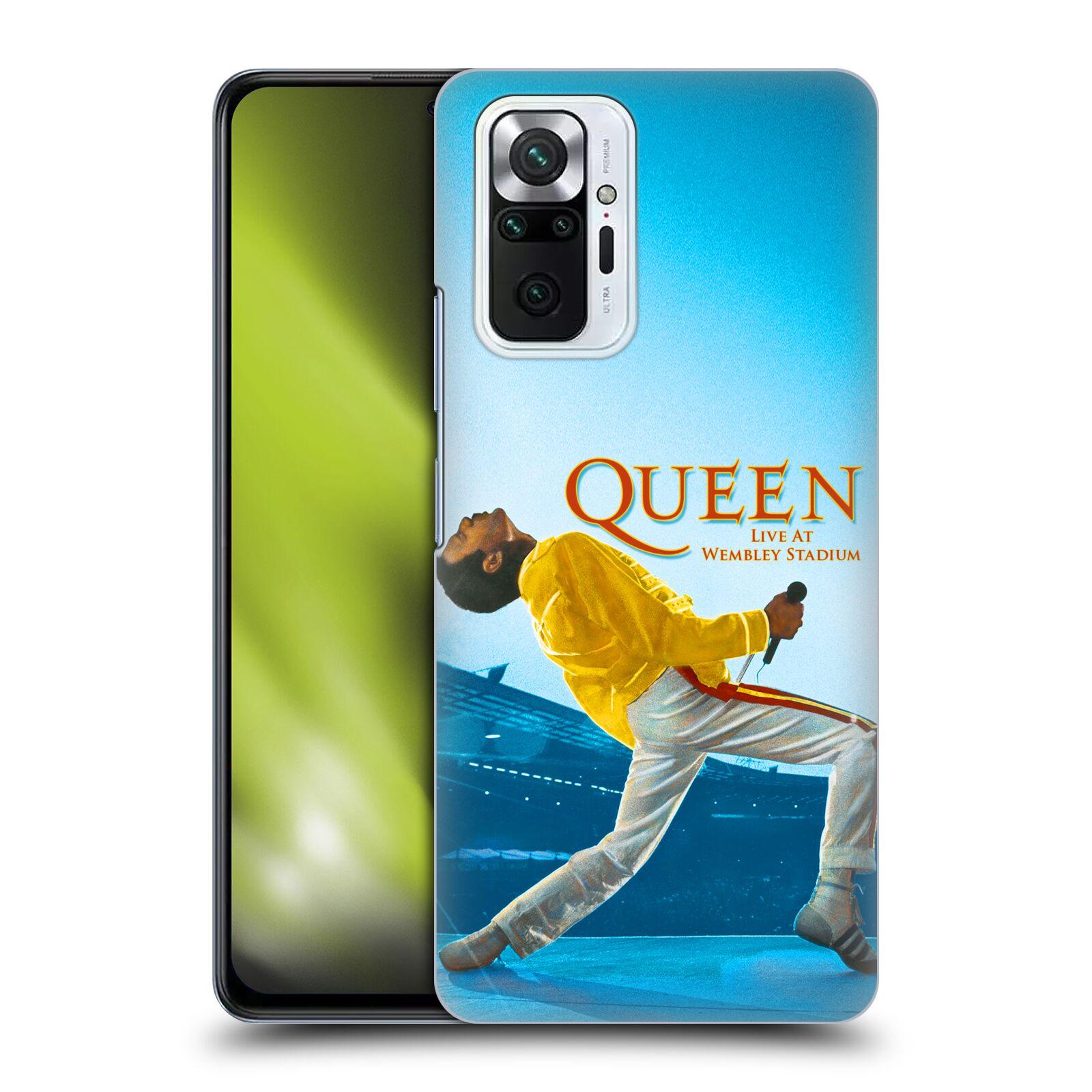 Plastové pouzdro na mobil Xiaomi Redmi Note 10 Pro - Head Case - Queen - Freddie Mercury