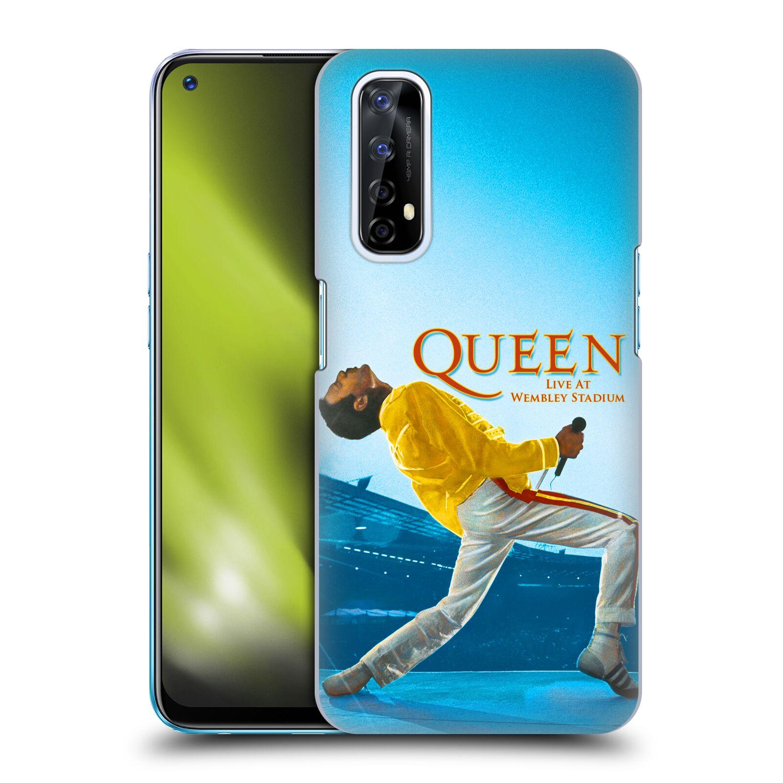 Plastové pouzdro na mobil Realme 7 - Head Case - Queen - Freddie Mercury