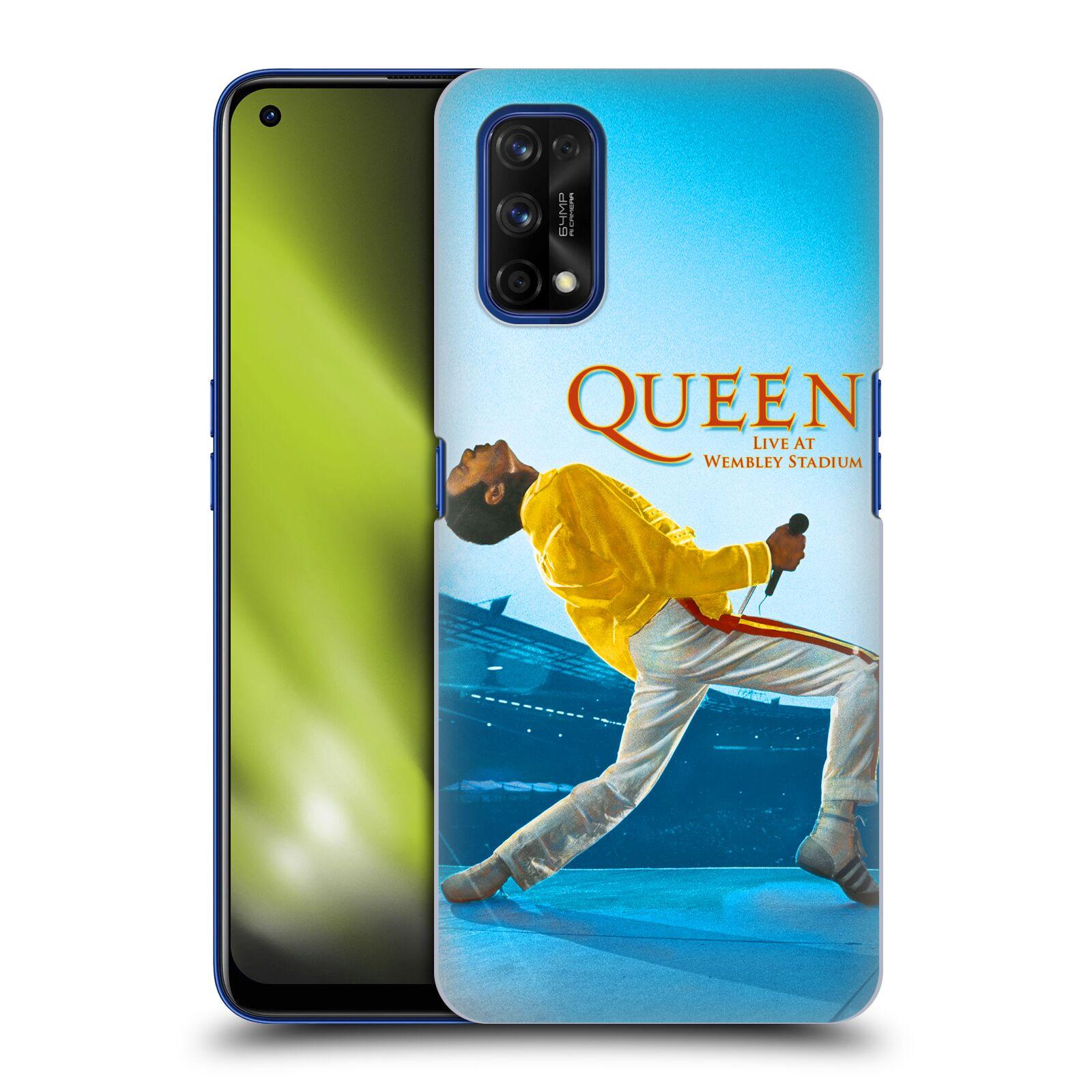 Plastové pouzdro na mobil Realme 7 Pro - Head Case - Queen - Freddie Mercury