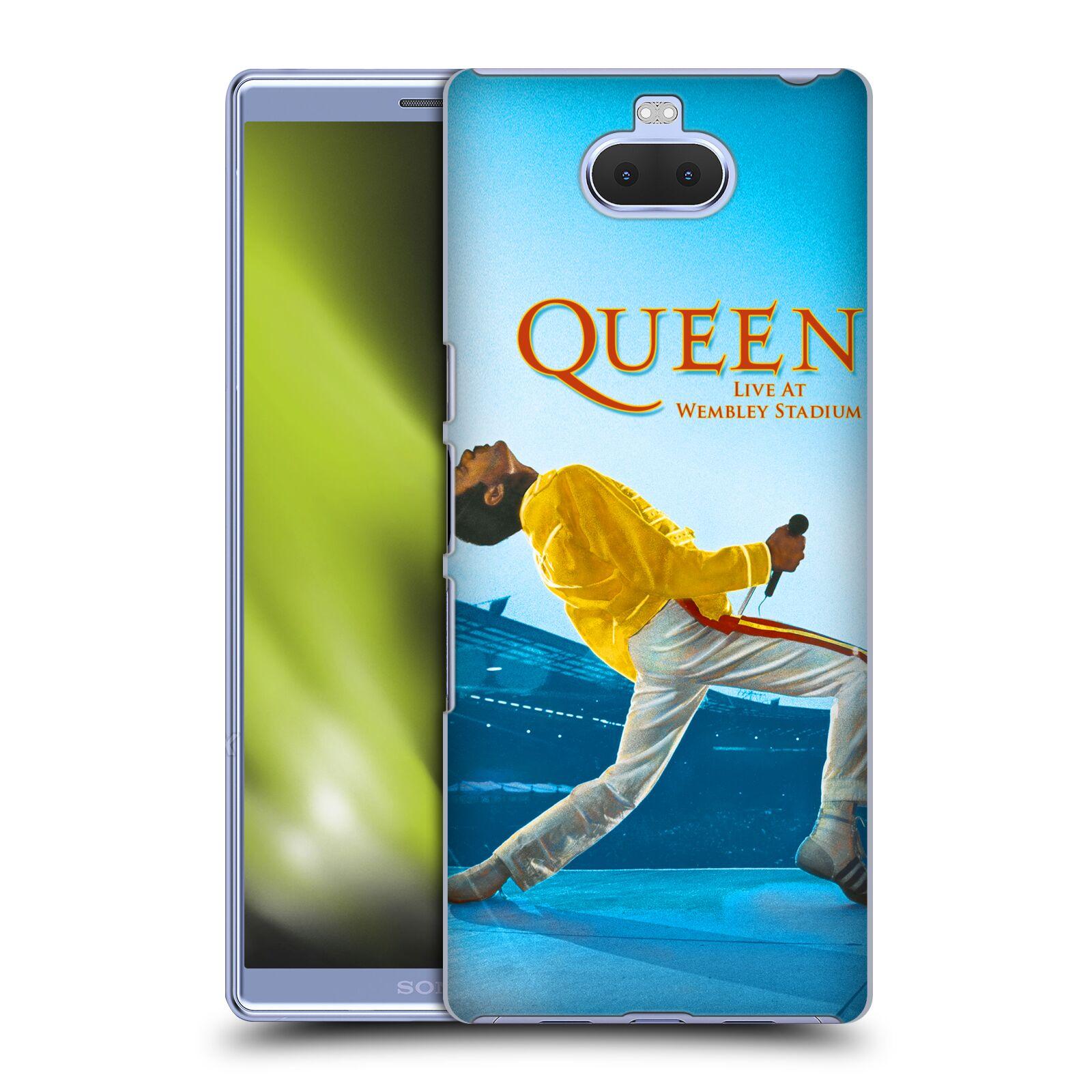 Plastové pouzdro na mobil Sony Xperia 10 - Head Case - Queen - Freddie Mercury