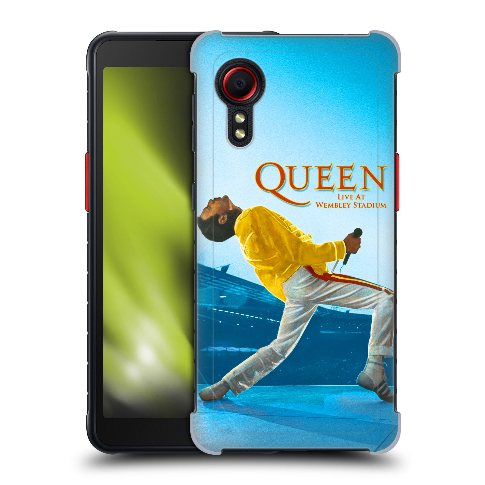 Plastové pouzdro na mobil Samsung Galaxy Xcover 5 - Head Case - Queen - Freddie Mercury