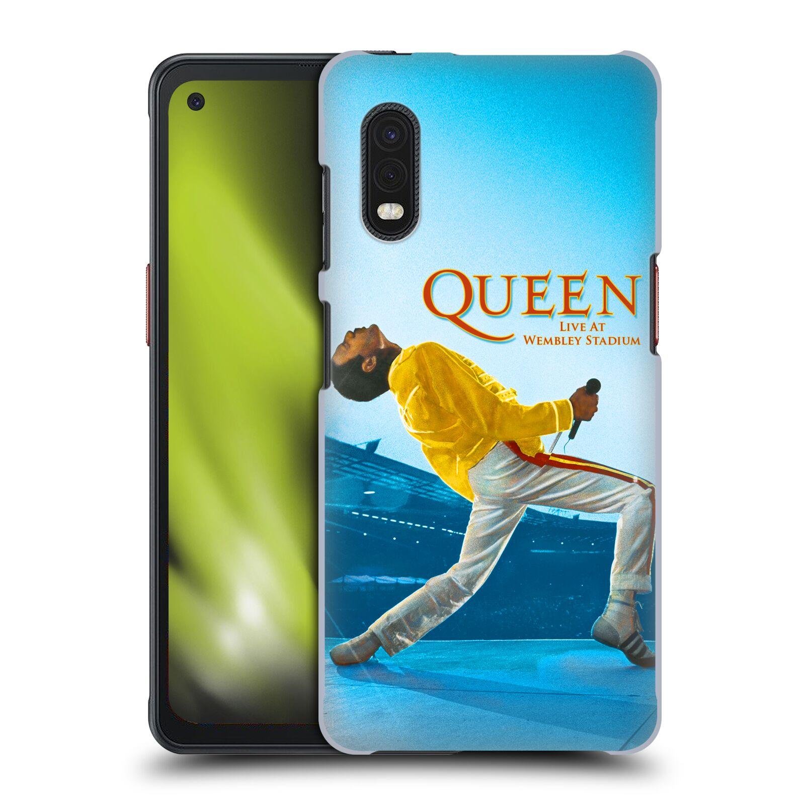 Plastové pouzdro na mobil Samsung Galaxy Xcover Pro - Head Case - Queen - Freddie Mercury