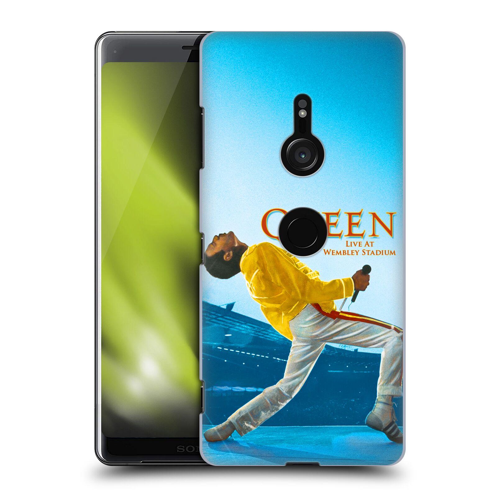 Plastové pouzdro na mobil Sony Xperia XZ3 - Head Case - Queen - Freddie Mercury