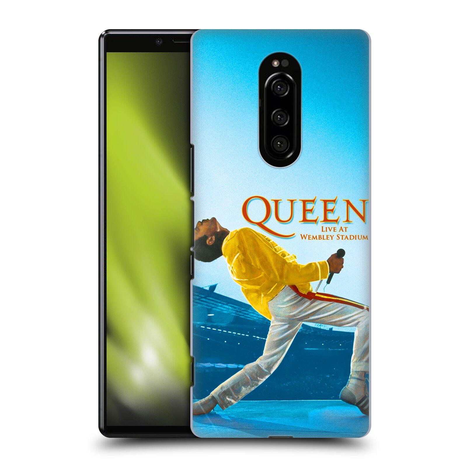 Plastové pouzdro na mobil Sony Xperia 1 - Head Case - Queen - Freddie Mercury