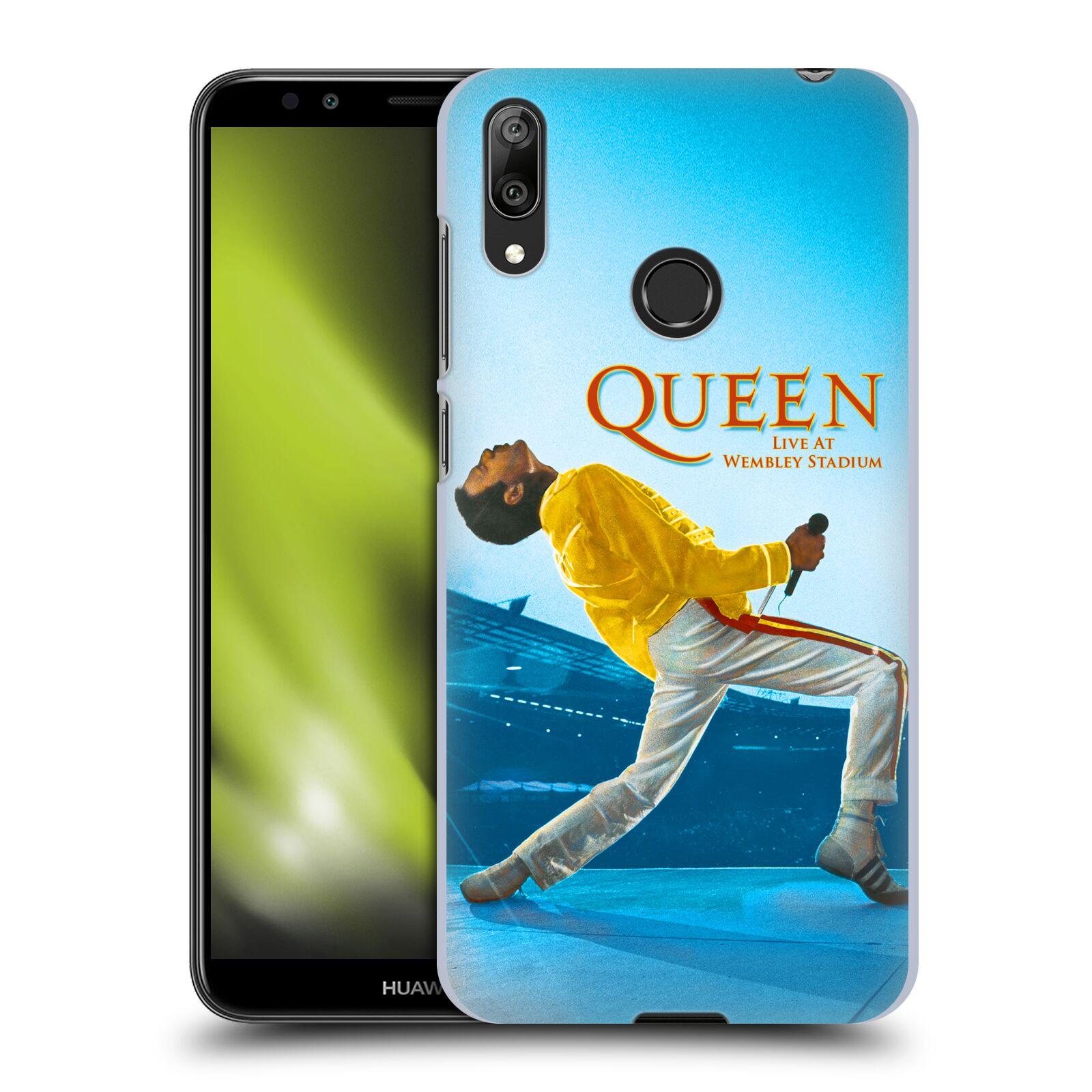 Plastové pouzdro na mobil Huawei Y7 (2019) - Head Case - Queen - Freddie Mercury