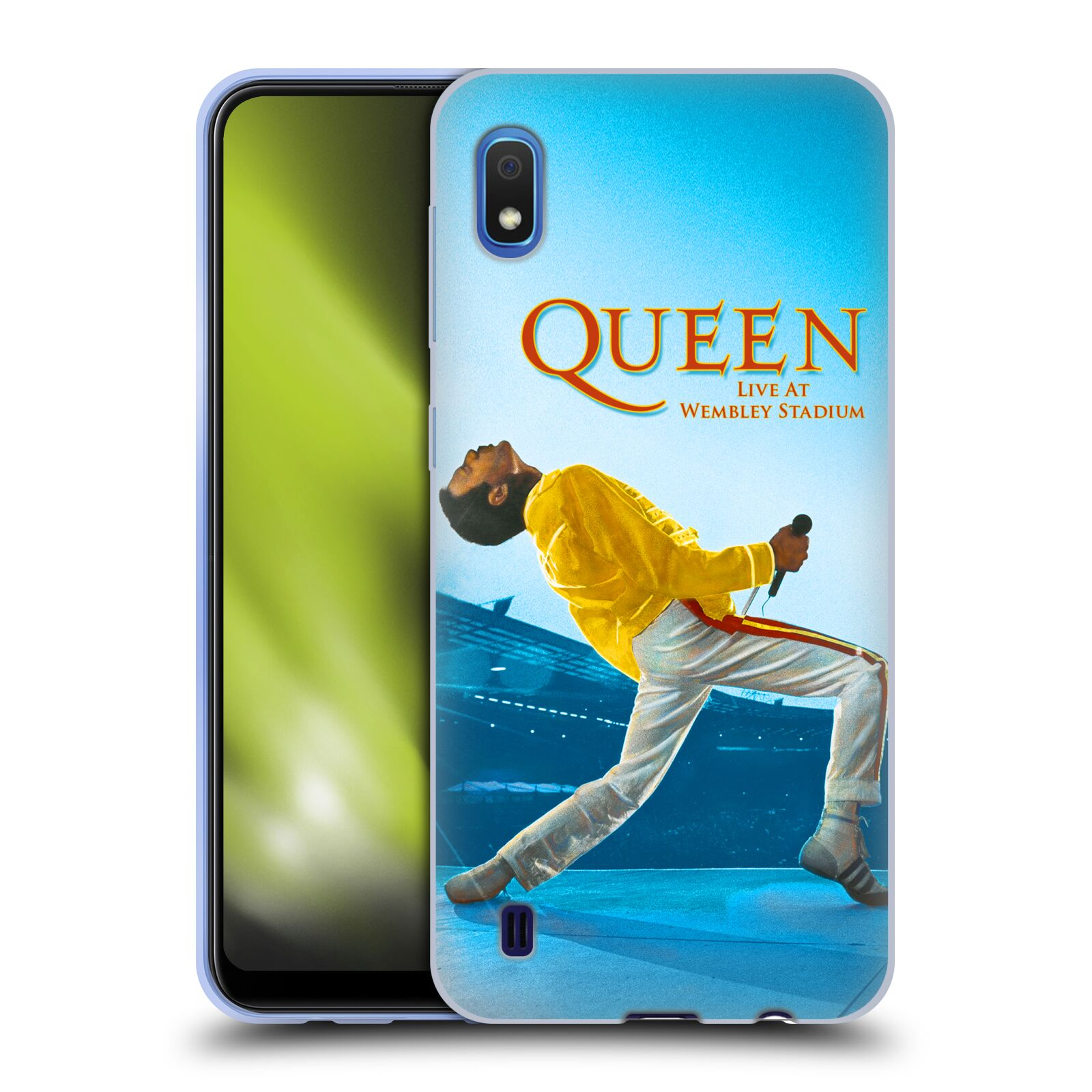 Silikonové pouzdro na mobil Samsung Galaxy A10 - Head Case - Queen - Freddie Mercury