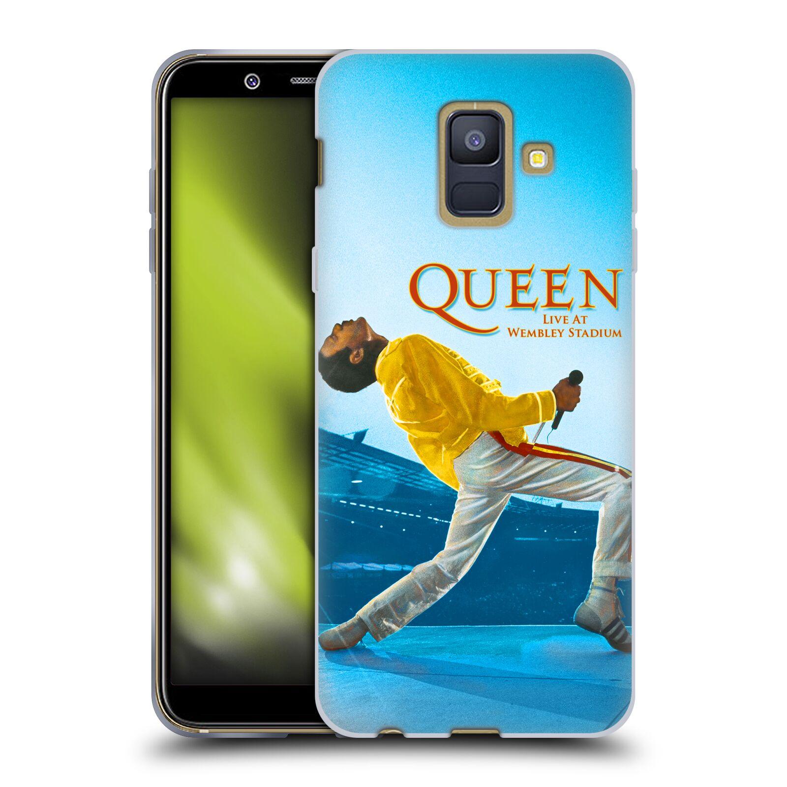 Silikonové pouzdro na mobil Samsung Galaxy A6 (2018) - Head Case - Queen - Freddie Mercury