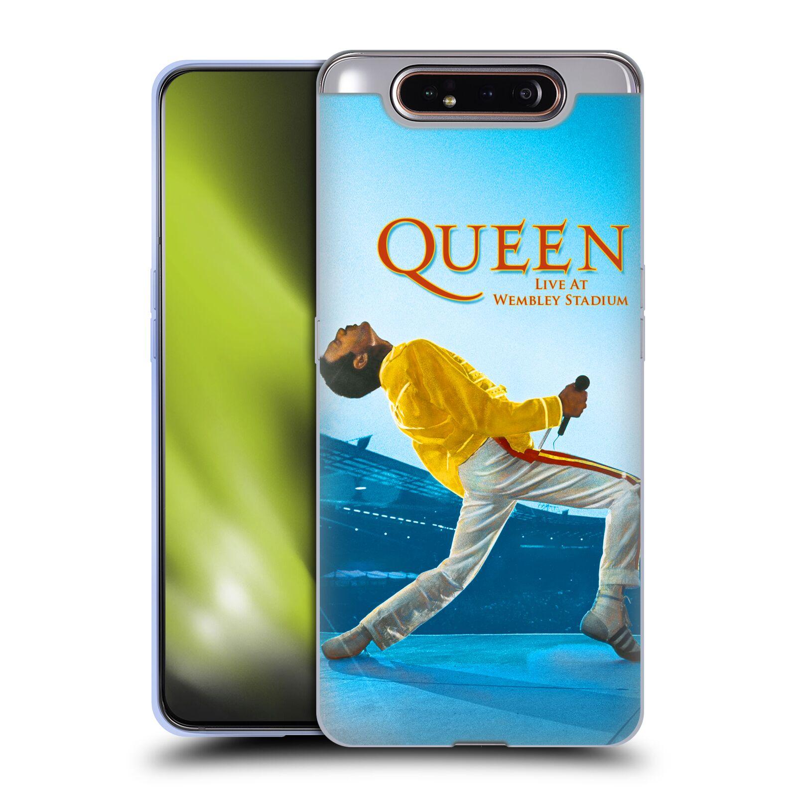 Silikonové pouzdro na mobil Samsung Galaxy A80 - Head Case - Queen - Freddie Mercury