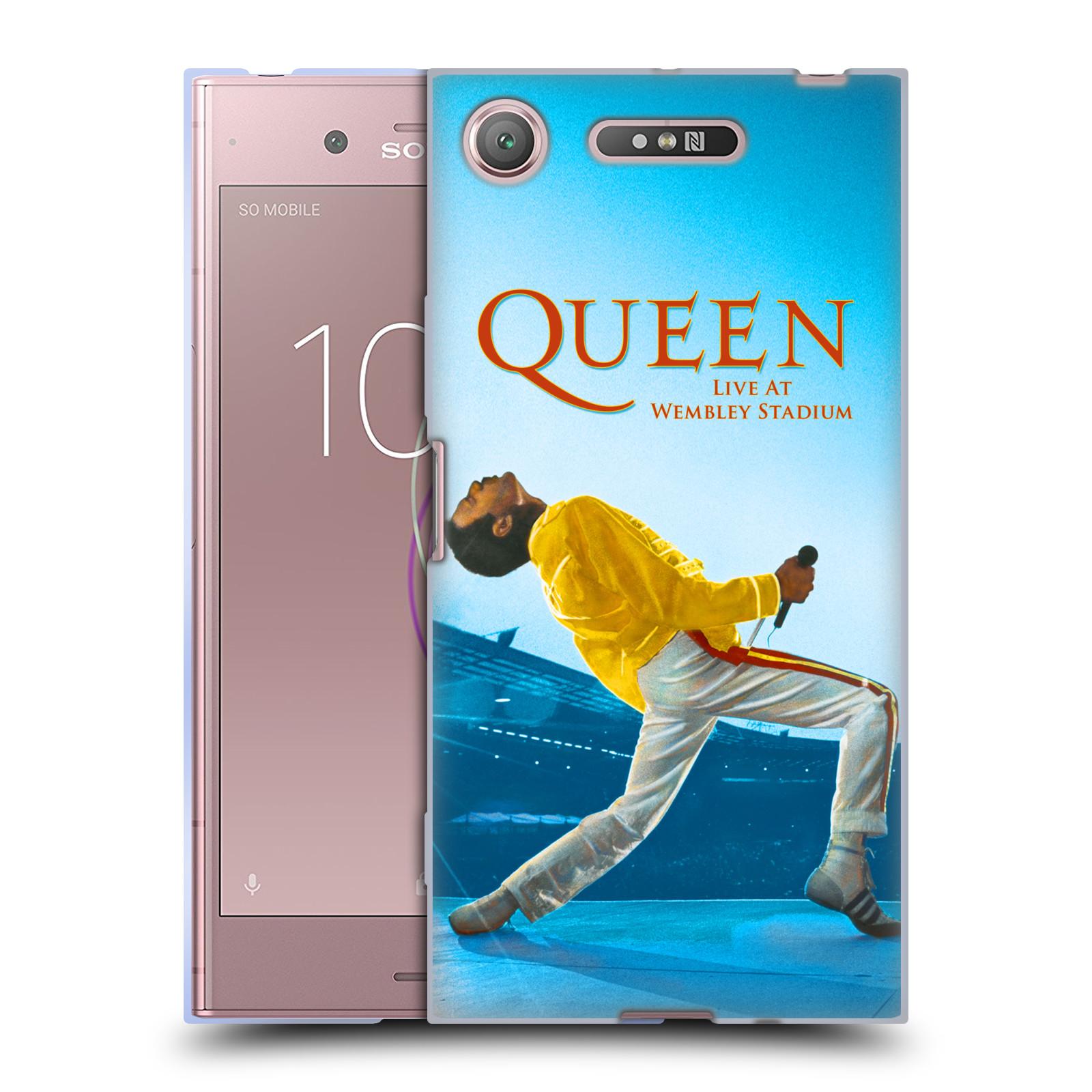 Silikonové pouzdro na mobil Sony Xperia XZ1 - Head Case - Queen - Freddie Mercury
