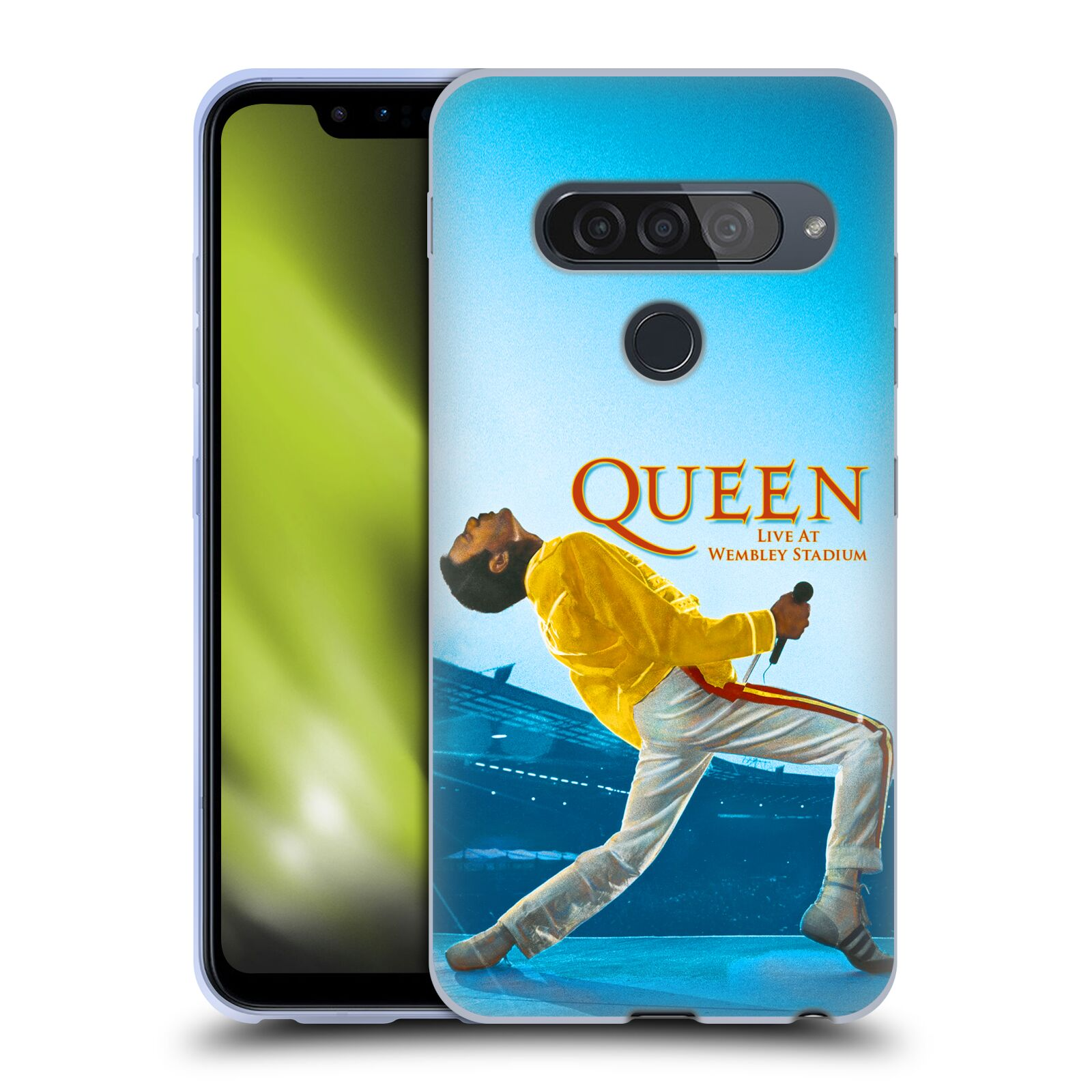 Silikonové pouzdro na mobil LG G8s ThinQ - Head Case - Queen - Freddie Mercury