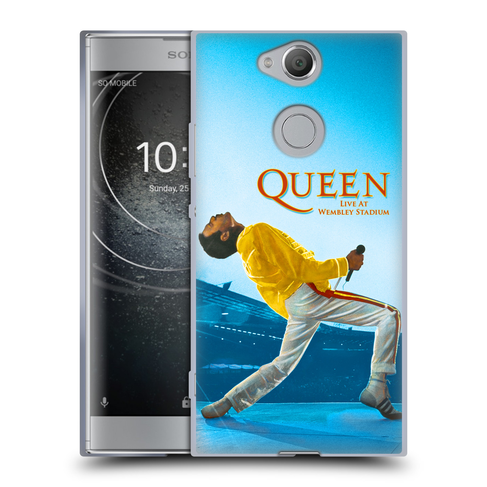 Silikonové pouzdro na mobil Sony Xperia XA2 - Head Case - Queen - Freddie Mercury