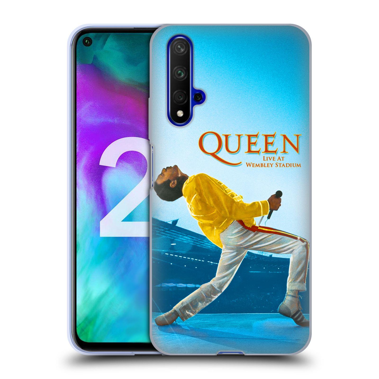 Silikonové pouzdro na mobil Honor 20 - Head Case - Queen - Freddie Mercury