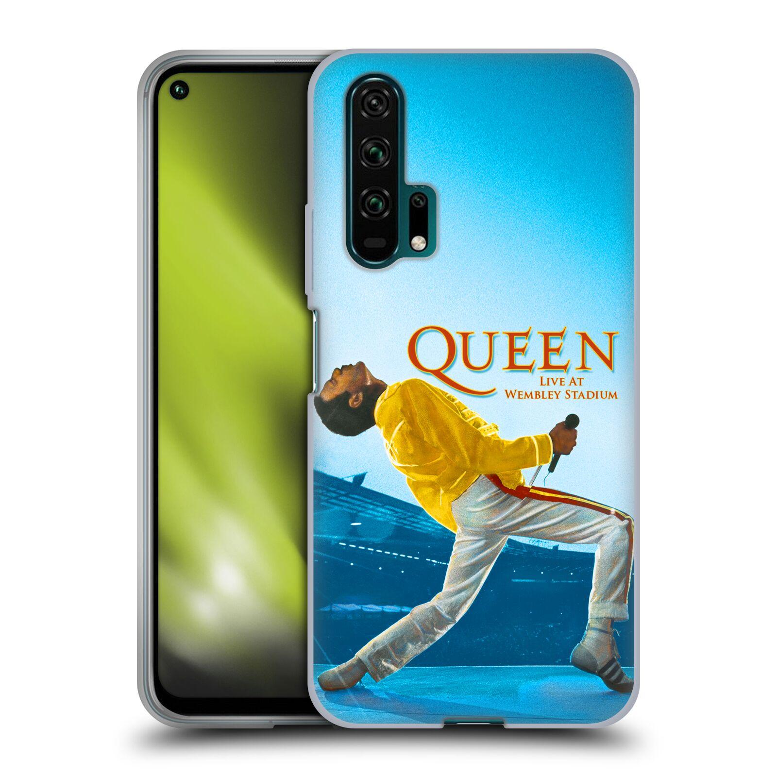 Silikonové pouzdro na mobil Honor 20 Pro - Head Case - Queen - Freddie Mercury