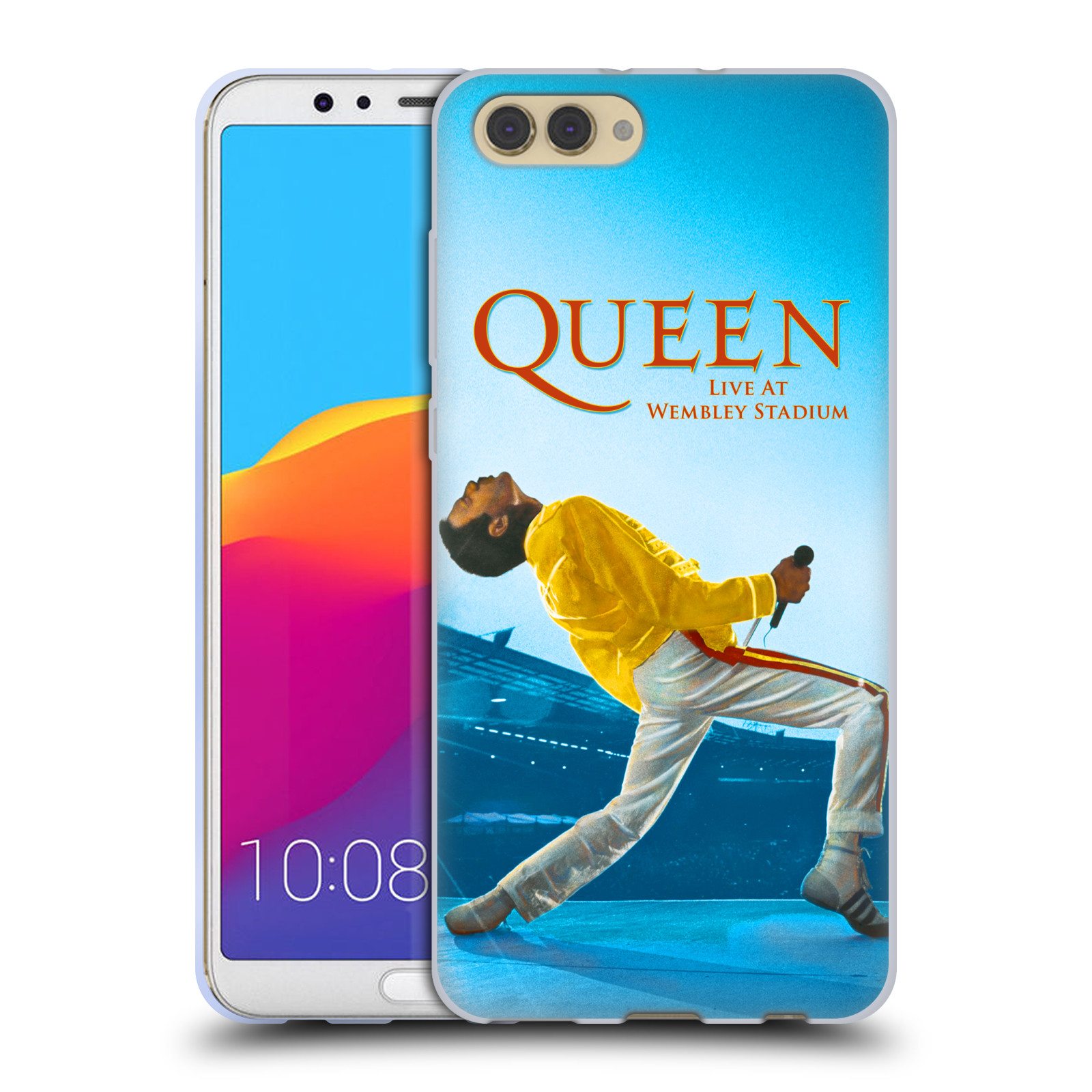 Silikonové pouzdro na mobil Honor View 10 - Head Case - Queen - Freddie Mercury