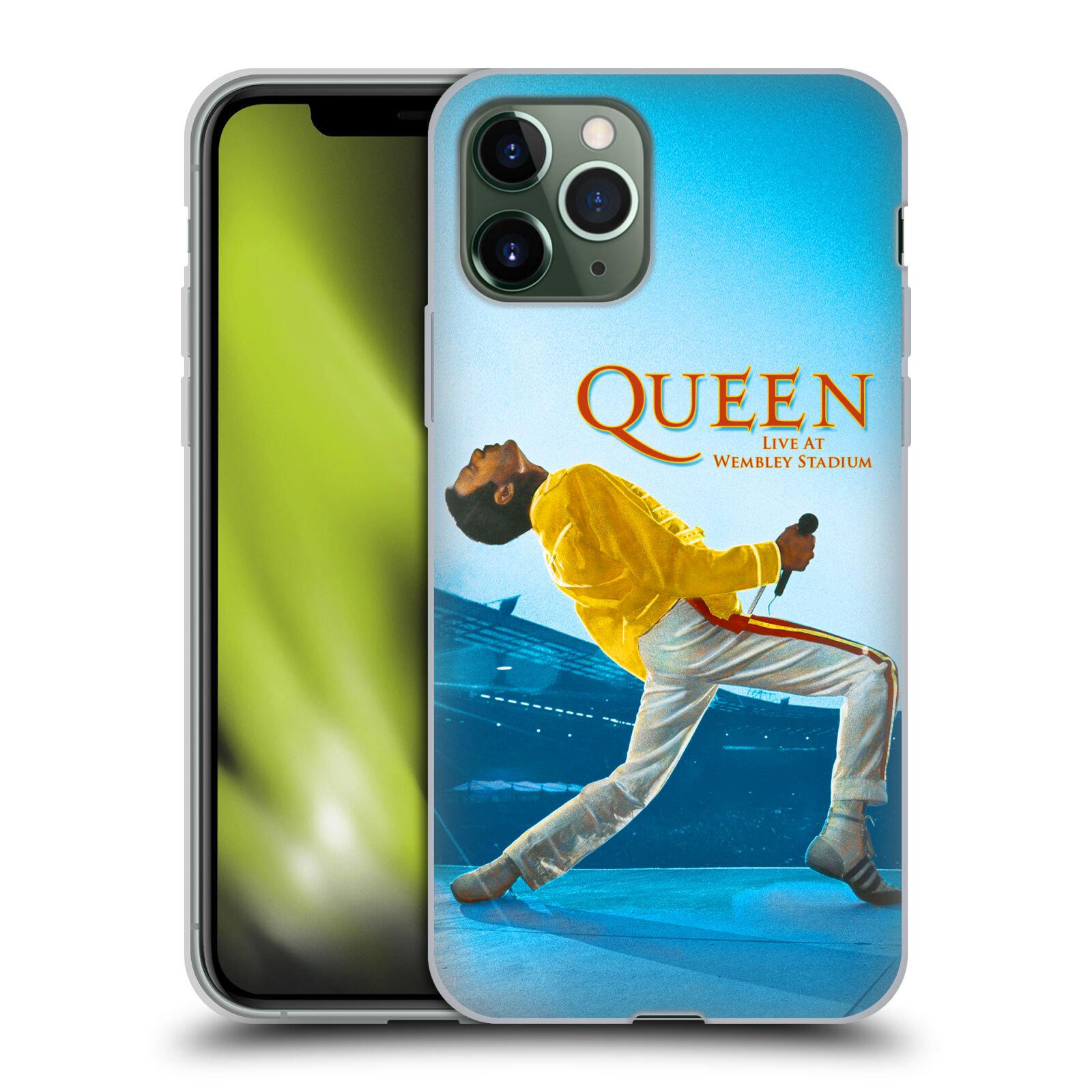 kryt na iphone 6 fotbal | Silikonové pouzdro na mobil Apple iPhone 11 Pro - Head Case - Queen - Freddie Mercury