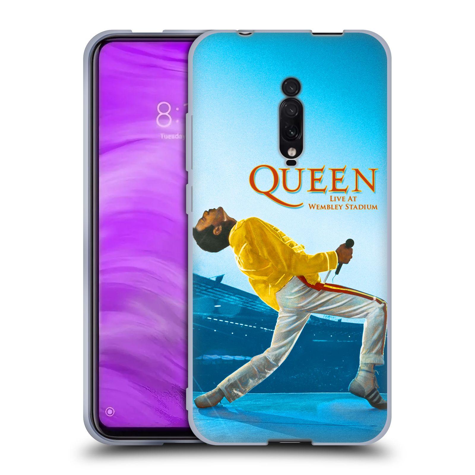 Silikonové pouzdro na mobil Xiaomi Mi 9T - Head Case - Queen - Freddie Mercury