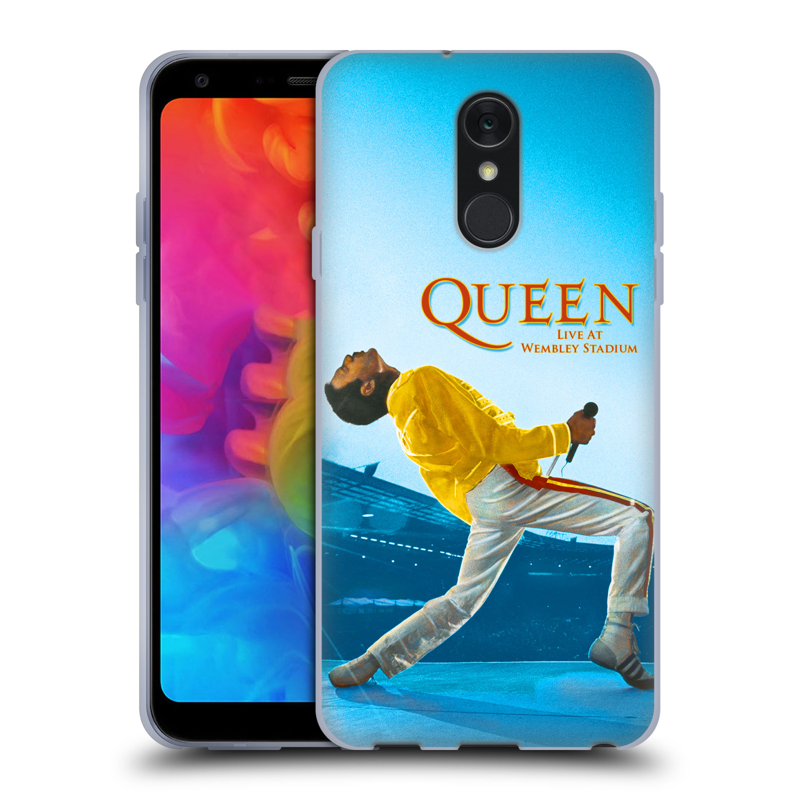 Silikonové pouzdro na mobil LG Q7 - Head Case - Queen - Freddie Mercury
