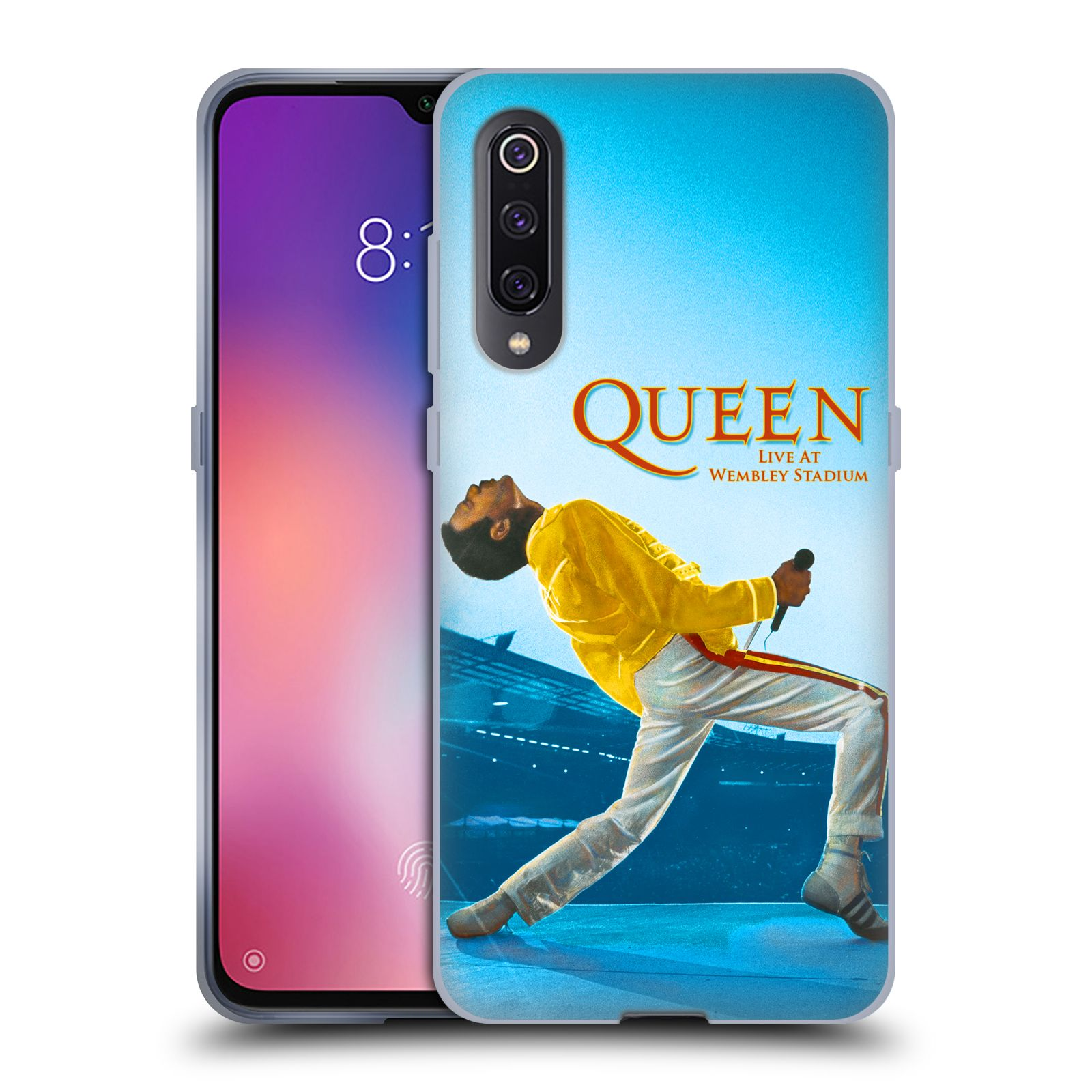 Silikonové pouzdro na mobil Xiaomi Mi 9 - Head Case - Queen - Freddie Mercury