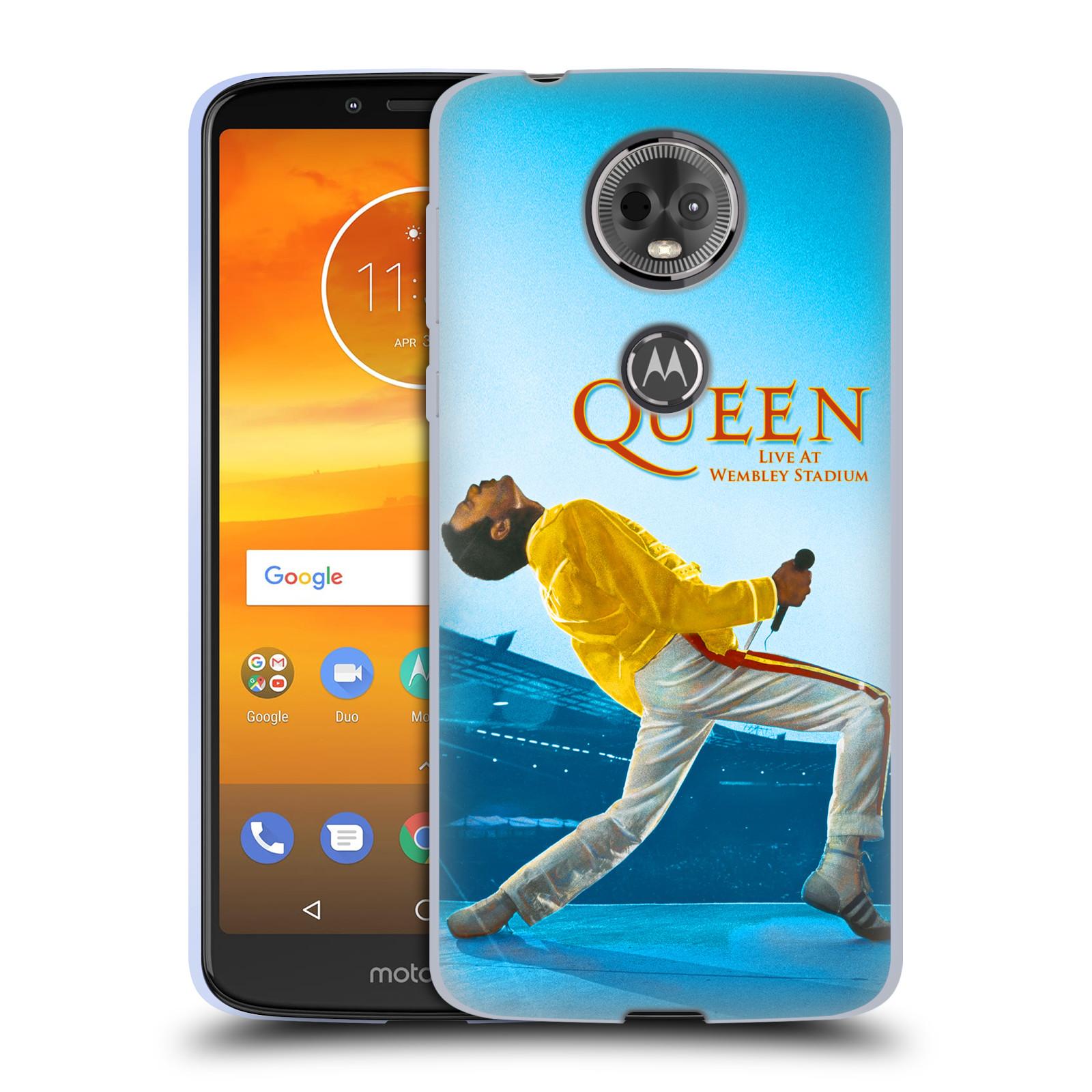 Silikonové pouzdro na mobil Motorola Moto E5 Plus - Head Case - Queen - Freddie Mercury