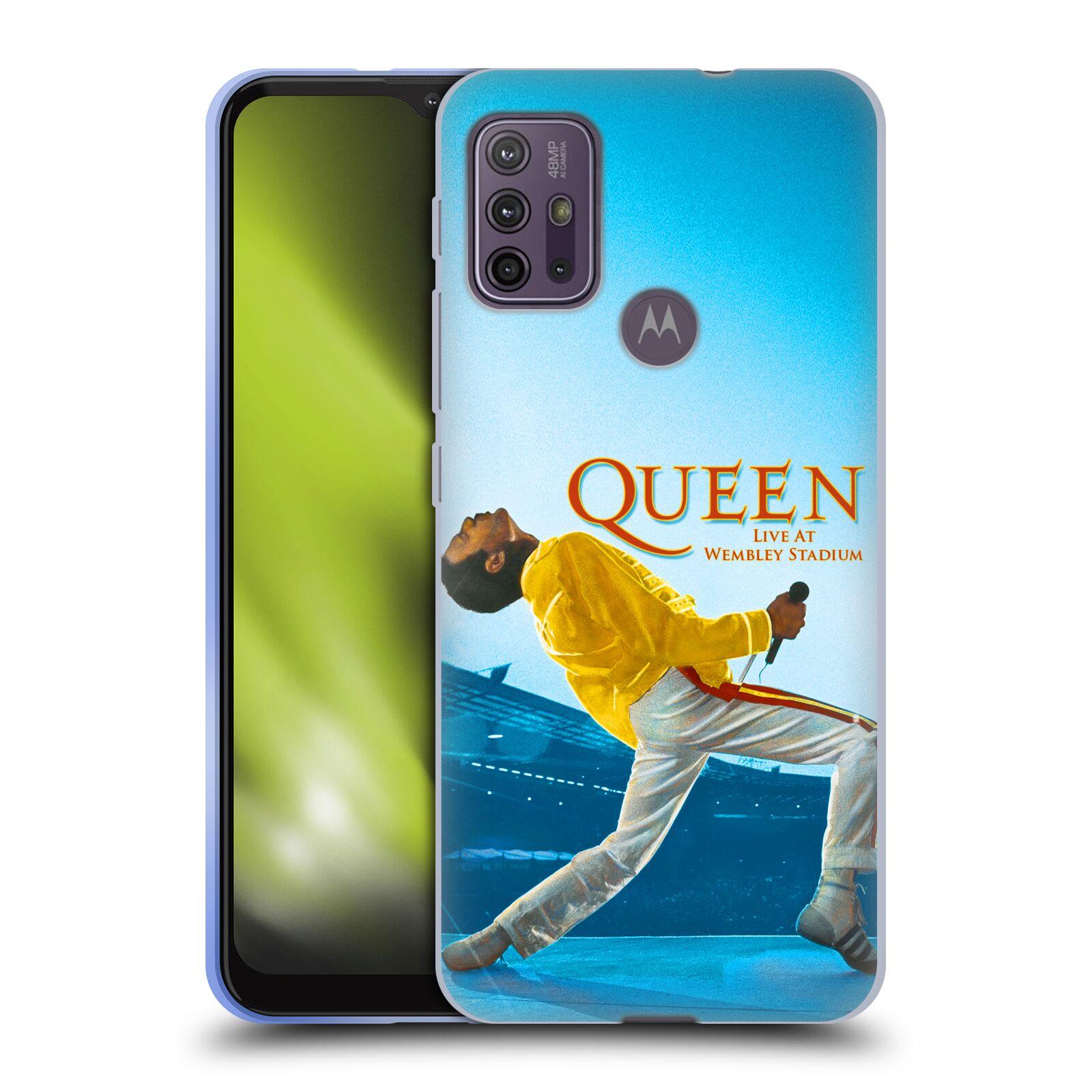 Silikonové pouzdro na mobil Motorola Moto G10 / G30 - Head Case - Queen - Freddie Mercury
