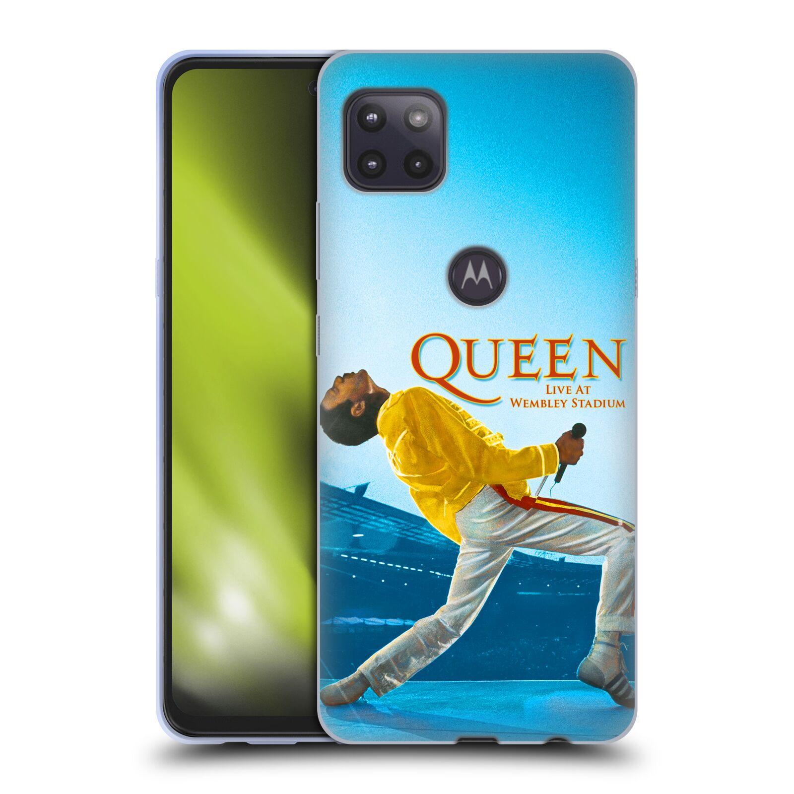 Silikonové pouzdro na mobil Motorola Moto G 5G - Head Case - Queen - Freddie Mercury