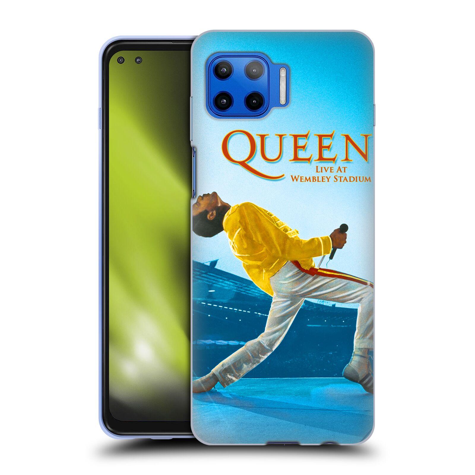 Silikonové pouzdro na mobil Motorola Moto G 5G Plus - Head Case - Queen - Freddie Mercury