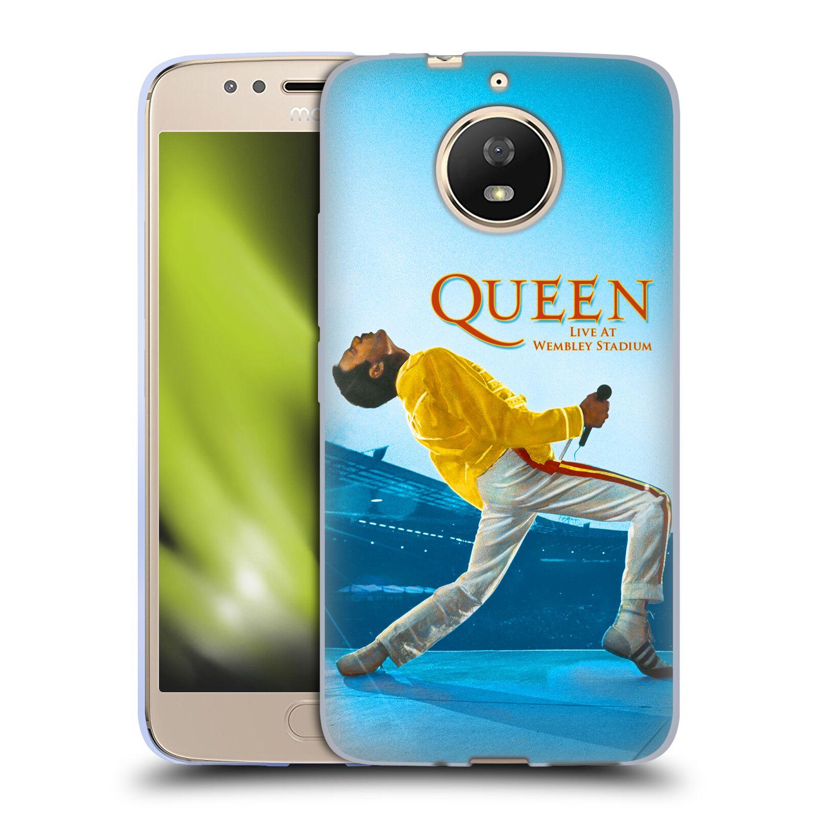 Silikonové pouzdro na mobil Lenovo Moto G5s - Head Case - Queen - Freddie Mercury