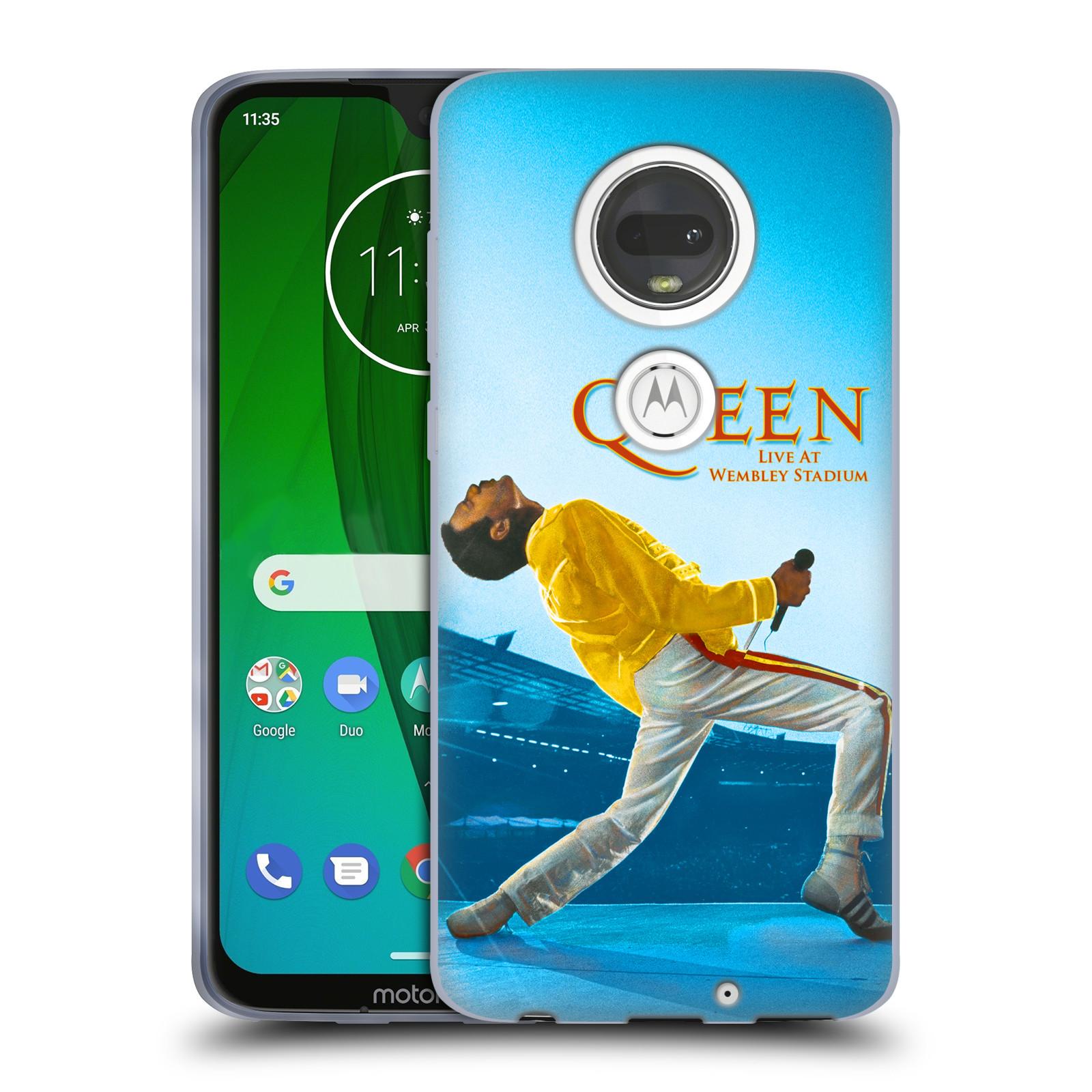 Silikonové pouzdro na mobil Motorola Moto G7 - Head Case - Queen - Freddie Mercury
