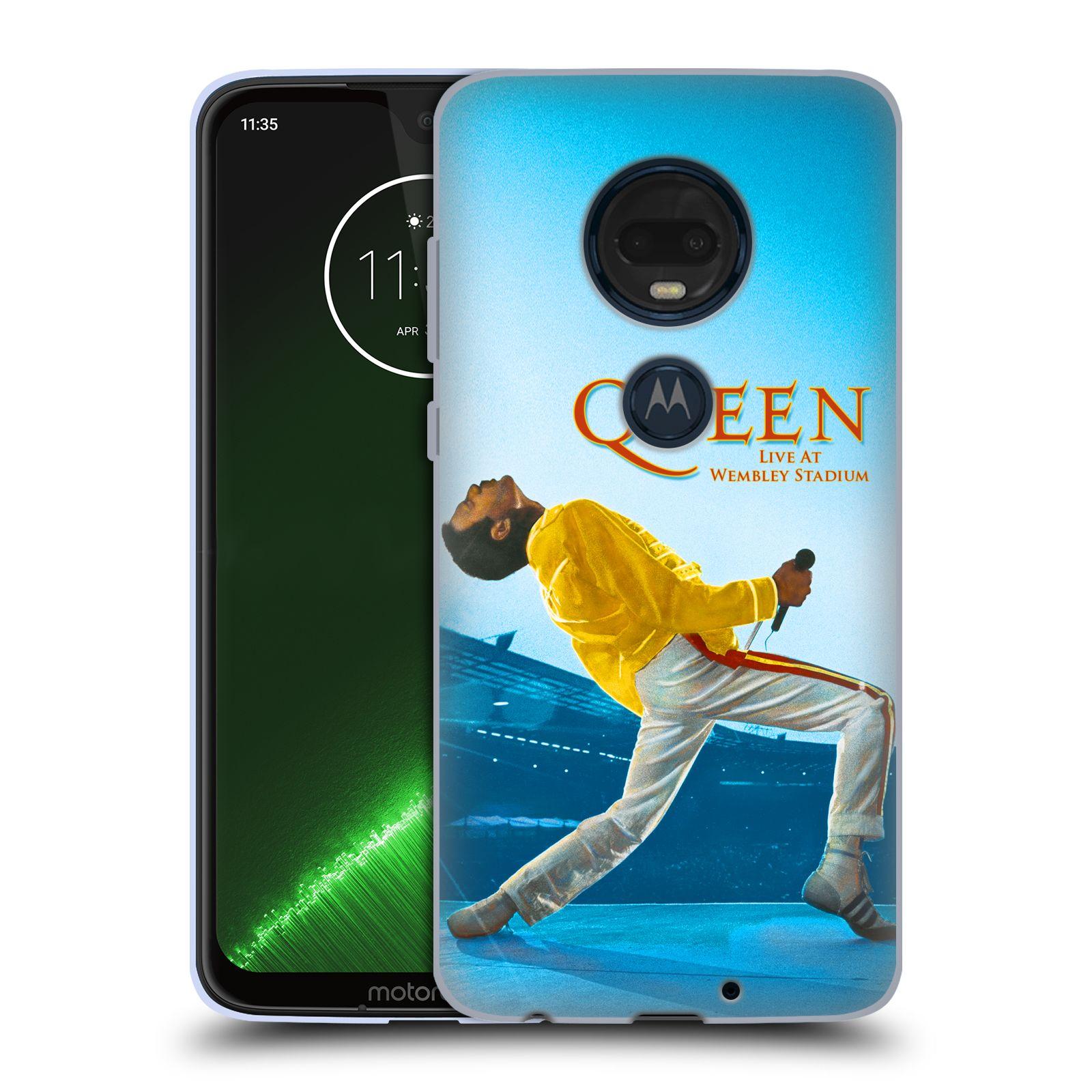 Silikonové pouzdro na mobil Motorola Moto G7 Plus - Head Case - Queen - Freddie Mercury
