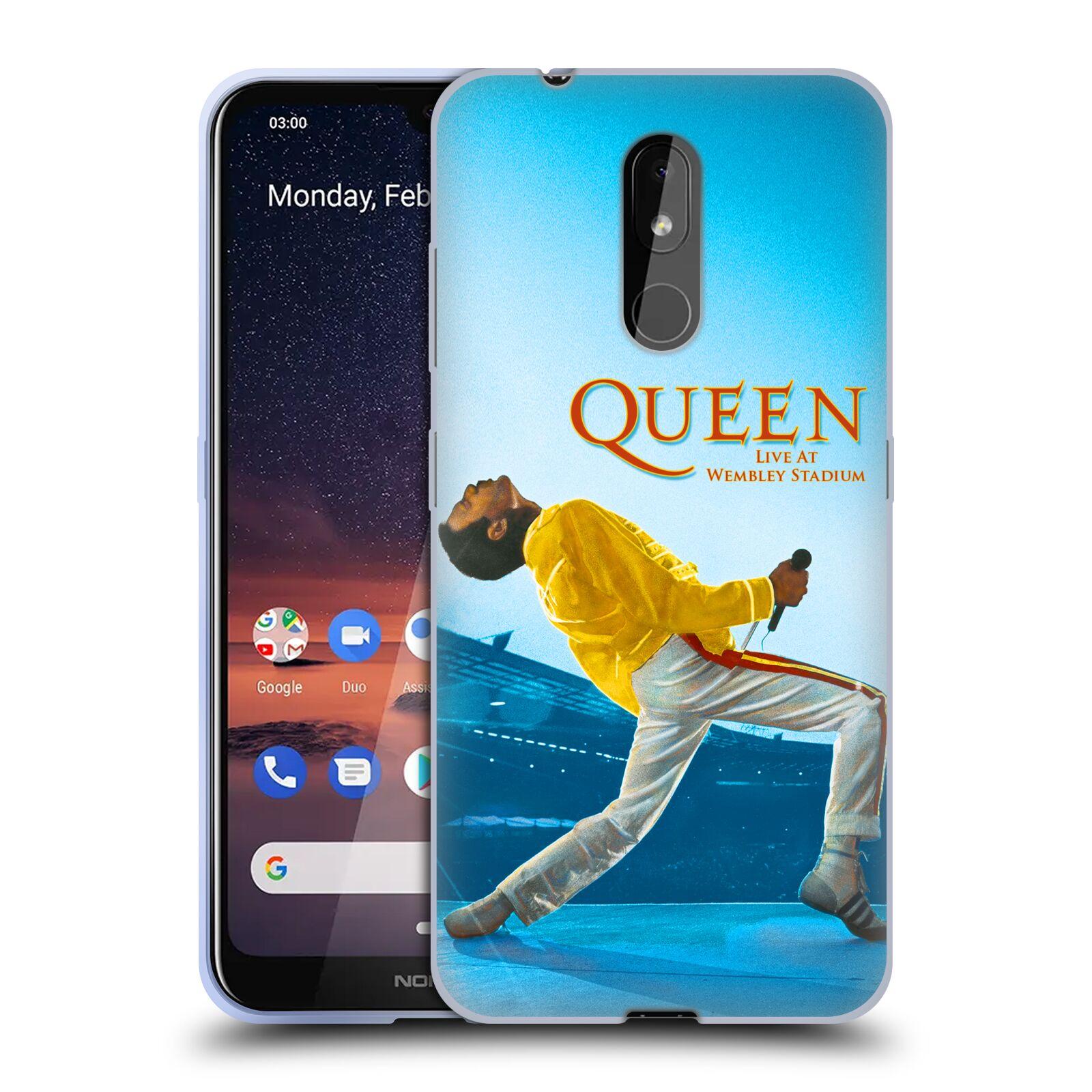 Silikonové pouzdro na mobil Nokia 3.2 - Head Case - Queen - Freddie Mercury
