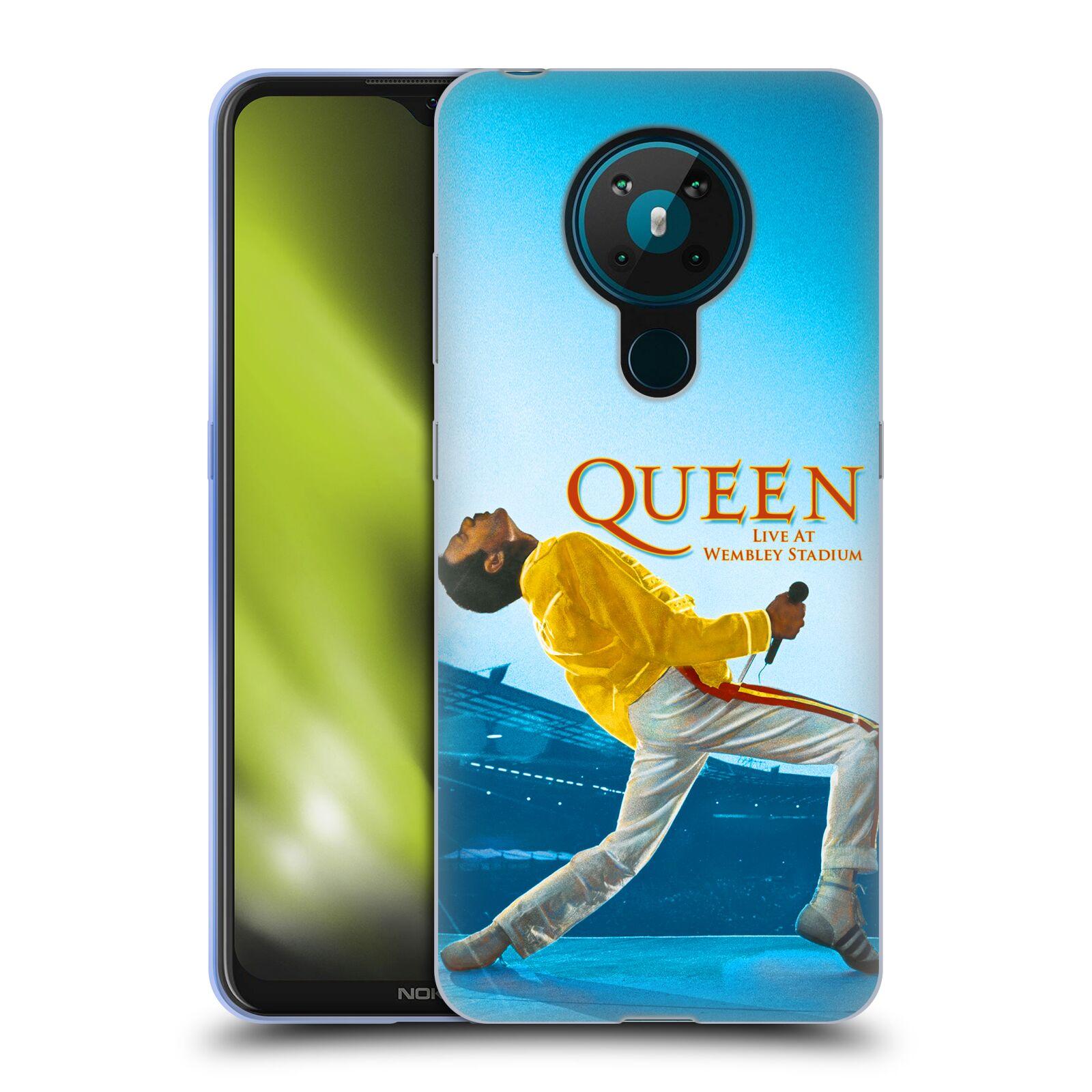 Silikonové pouzdro na mobil Nokia 5.3 - Head Case - Queen - Freddie Mercury