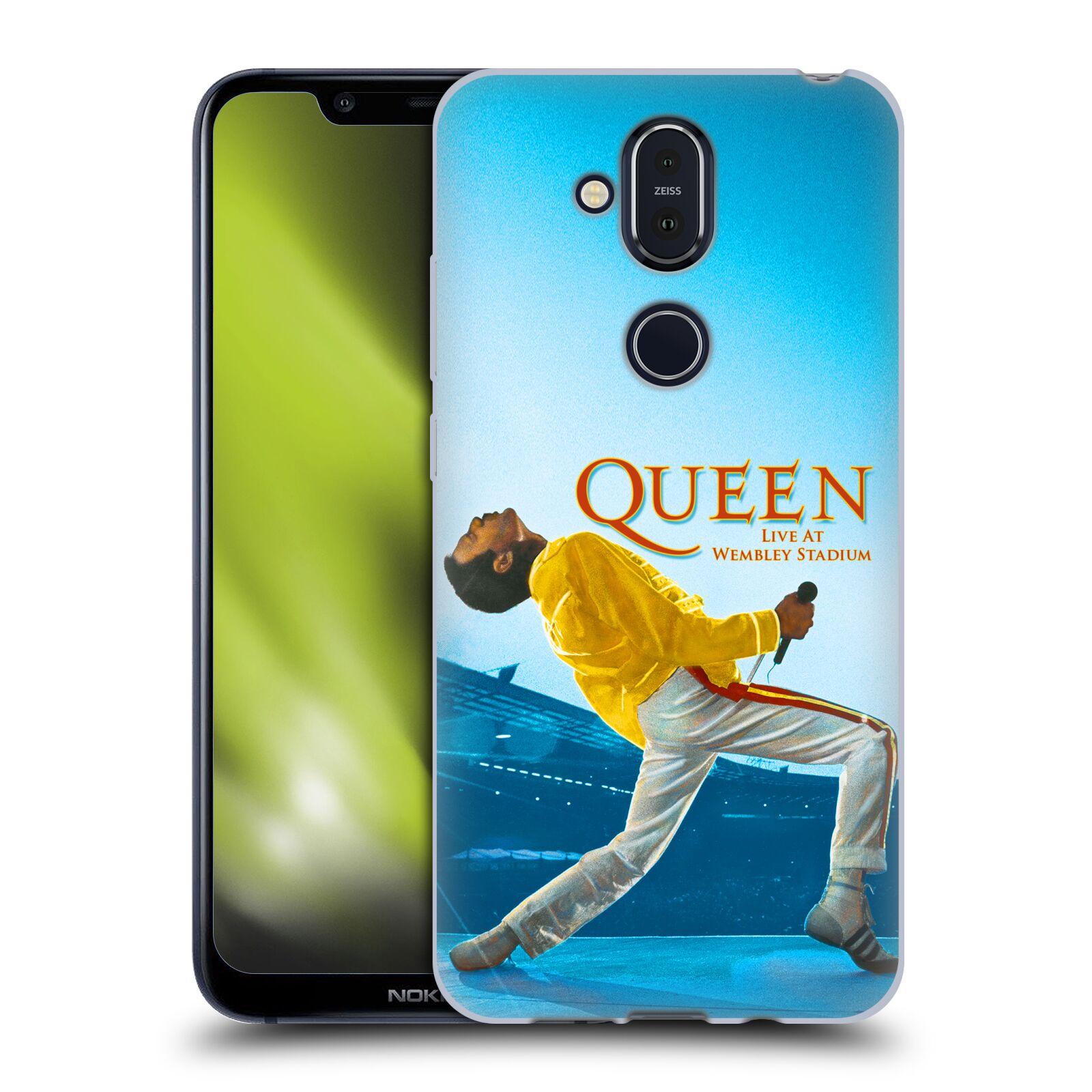 Silikonové pouzdro na mobil Nokia 8.1 - Head Case - Queen - Freddie Mercury