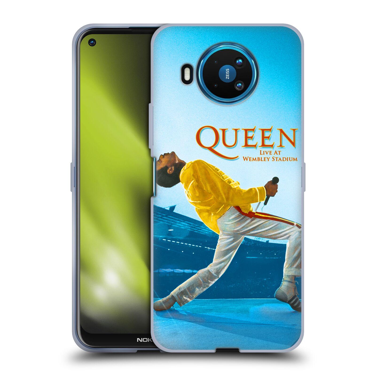 Silikonové pouzdro na mobil Nokia 8.3 5G - Head Case - Queen - Freddie Mercury