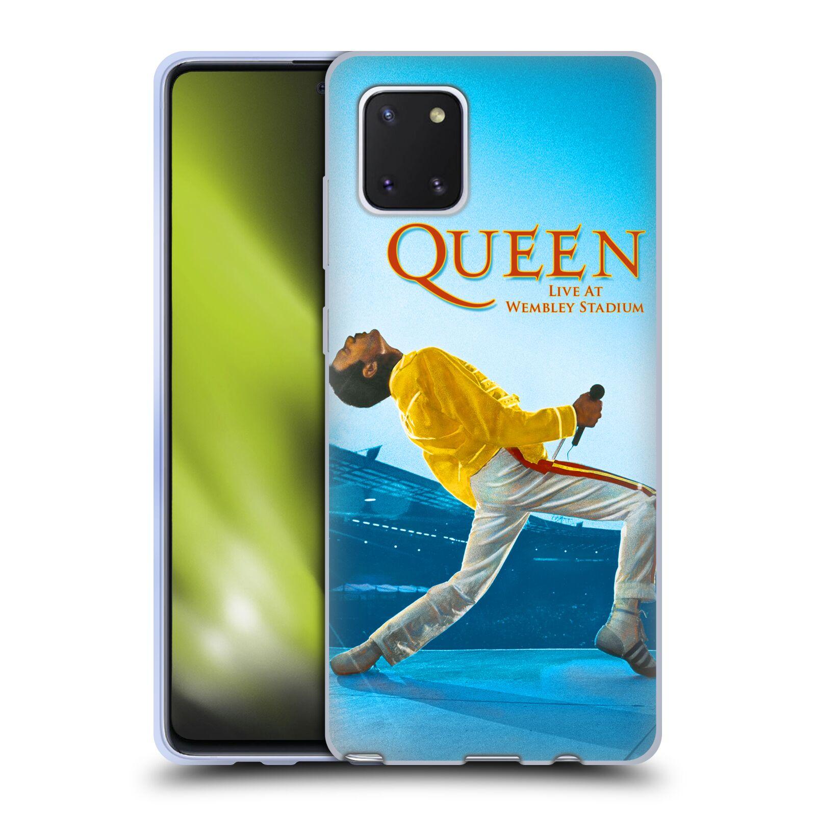 Silikonové pouzdro na mobil Samsung Galaxy Note 10 Lite - Head Case - Queen - Freddie Mercury