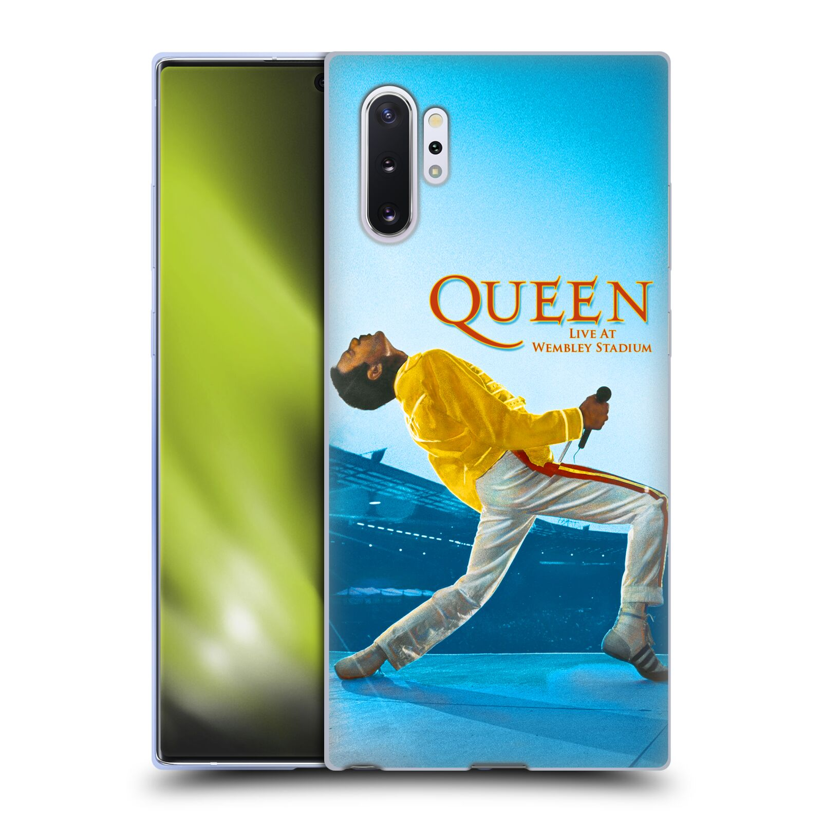 Silikonové pouzdro na mobil Samsung Galaxy Note 10 Plus - Head Case - Queen - Freddie Mercury